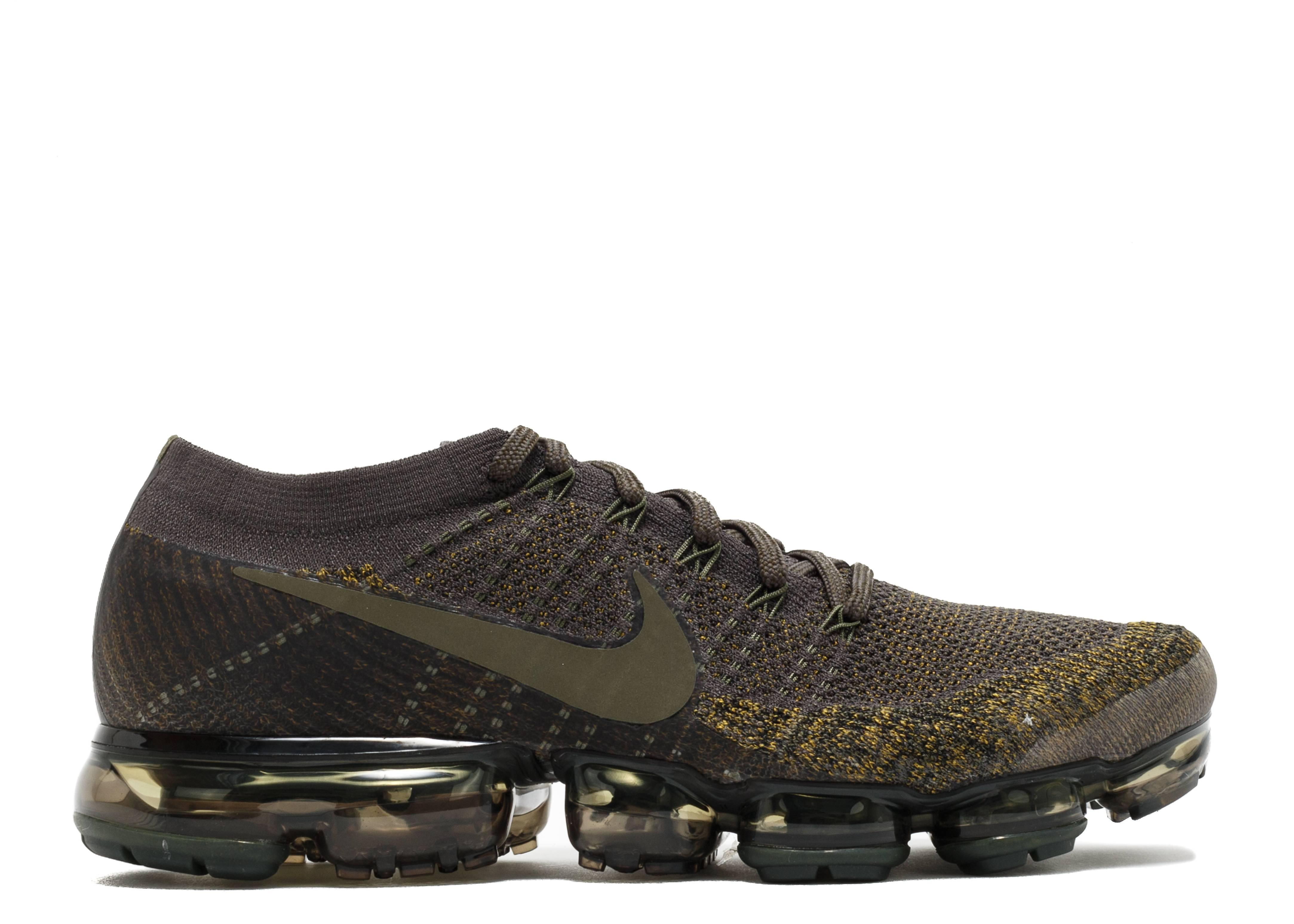 3ff56442029 Nikelab Air Vapormax Flyknit - Nike - 899473 004 - midnight fog cargo khaki