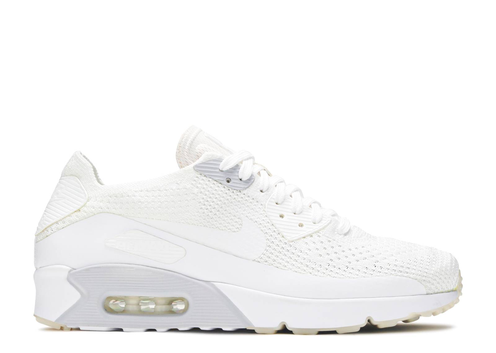 8fa87d65 Air Max 90 Ultra 2.0 Flyknit - Nike - 875943 101 - white/white-pure ...