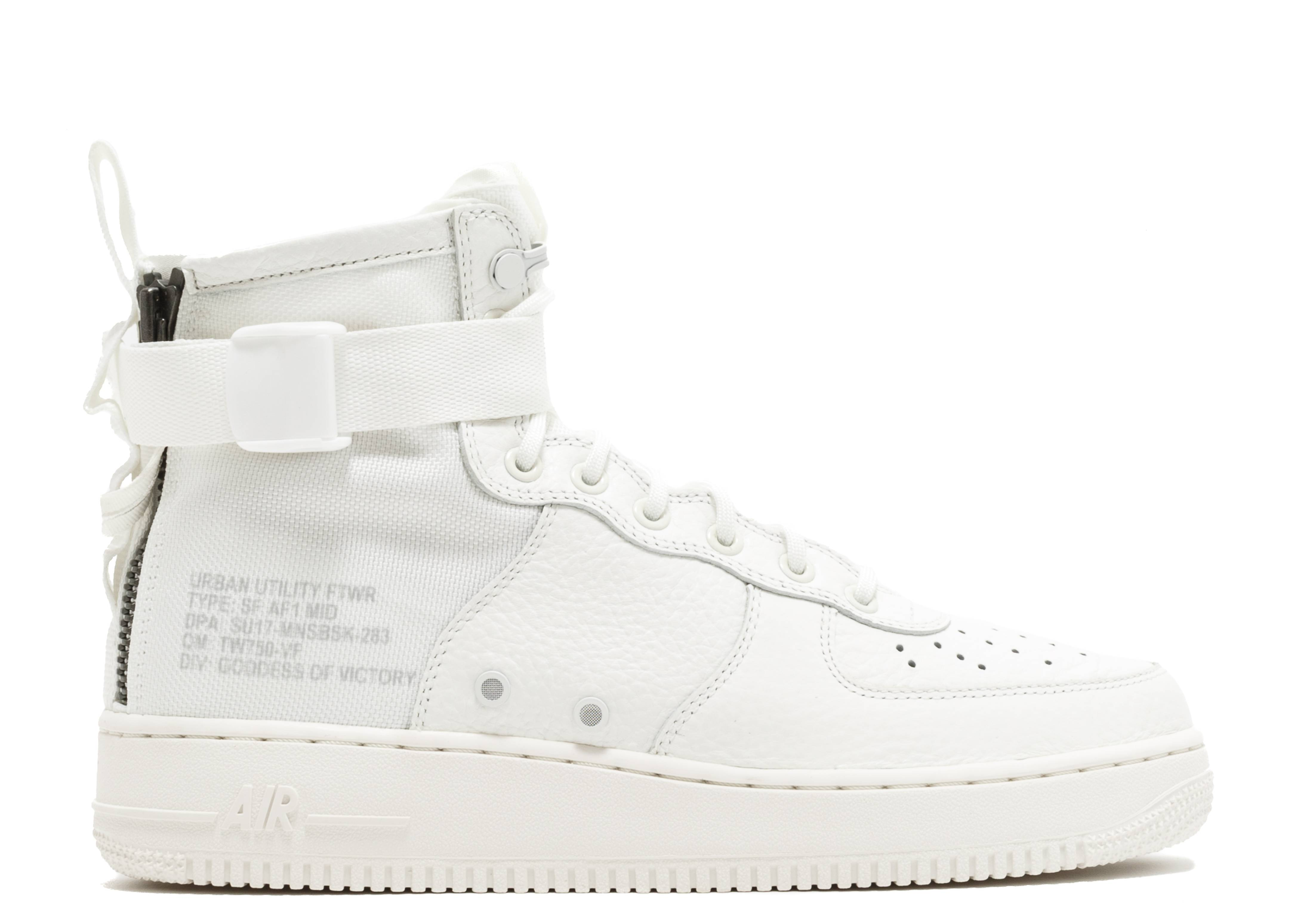 Nike Special Field Air Force 1 Mid Triple Ivory AA6655 100