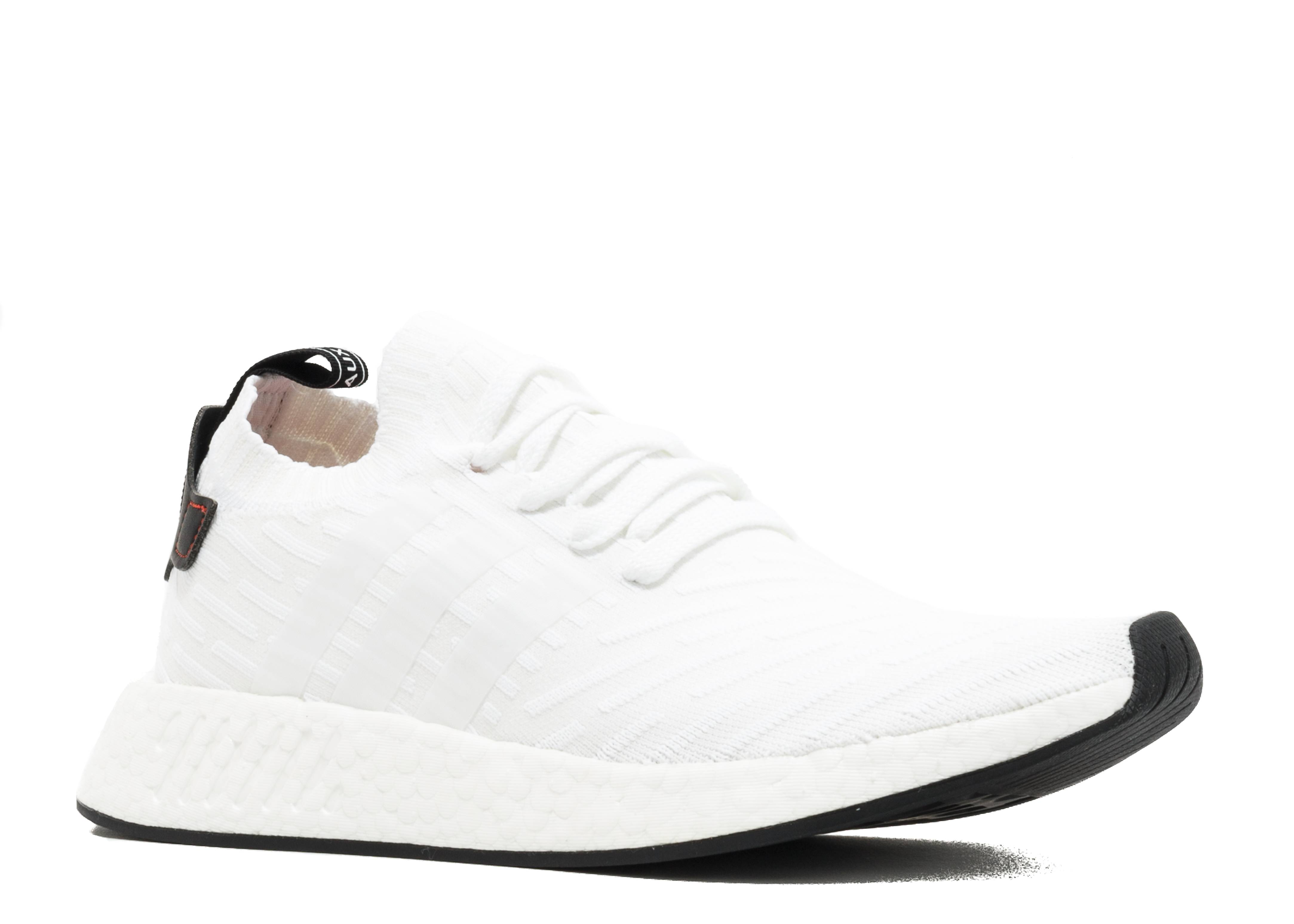 6e682d12cd64f NMD R2 PK - Adidas - BY3015 - white core black-red