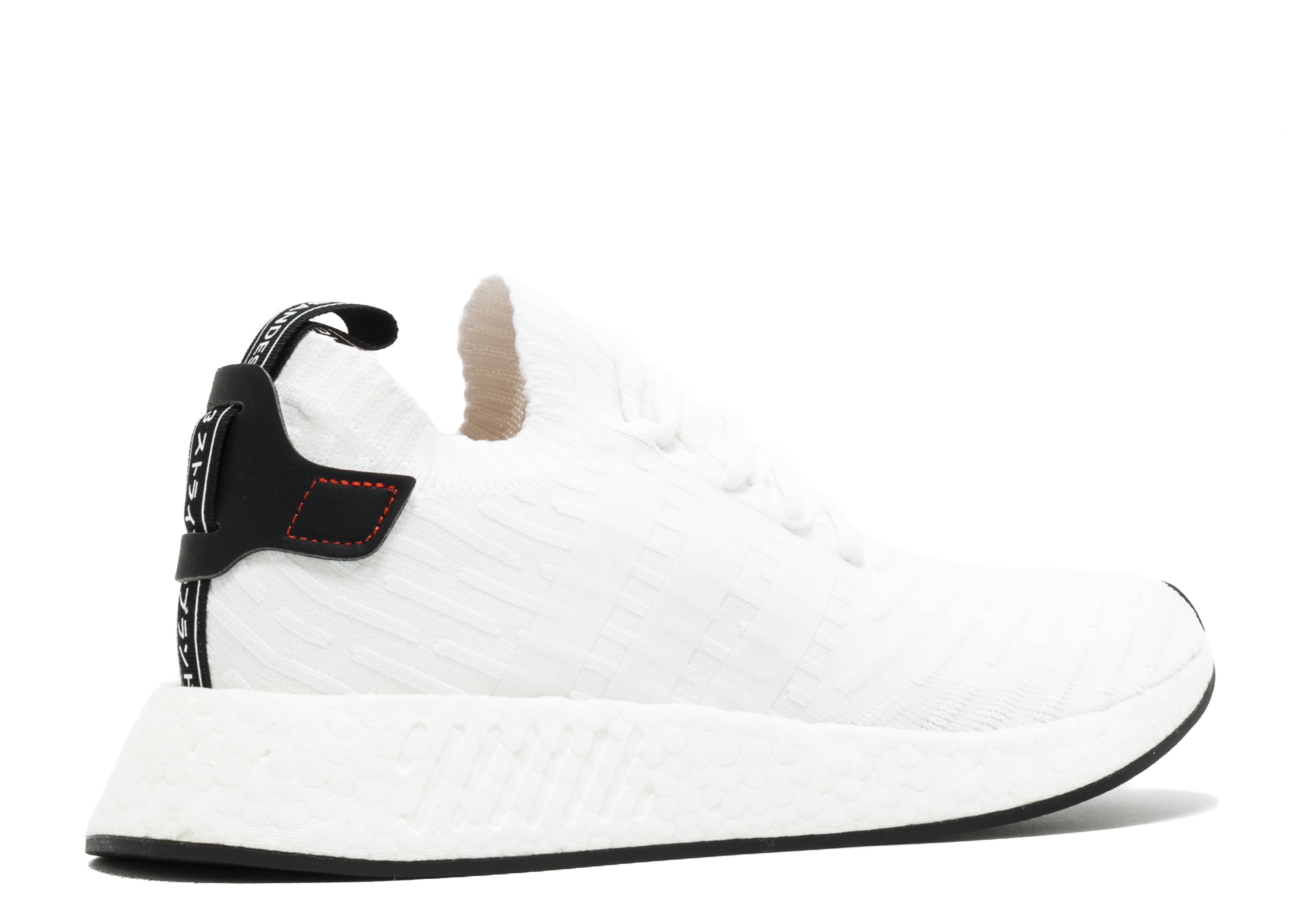 51f70c2f1 NMD R2 PK - Adidas - BY3015 - white core black-red