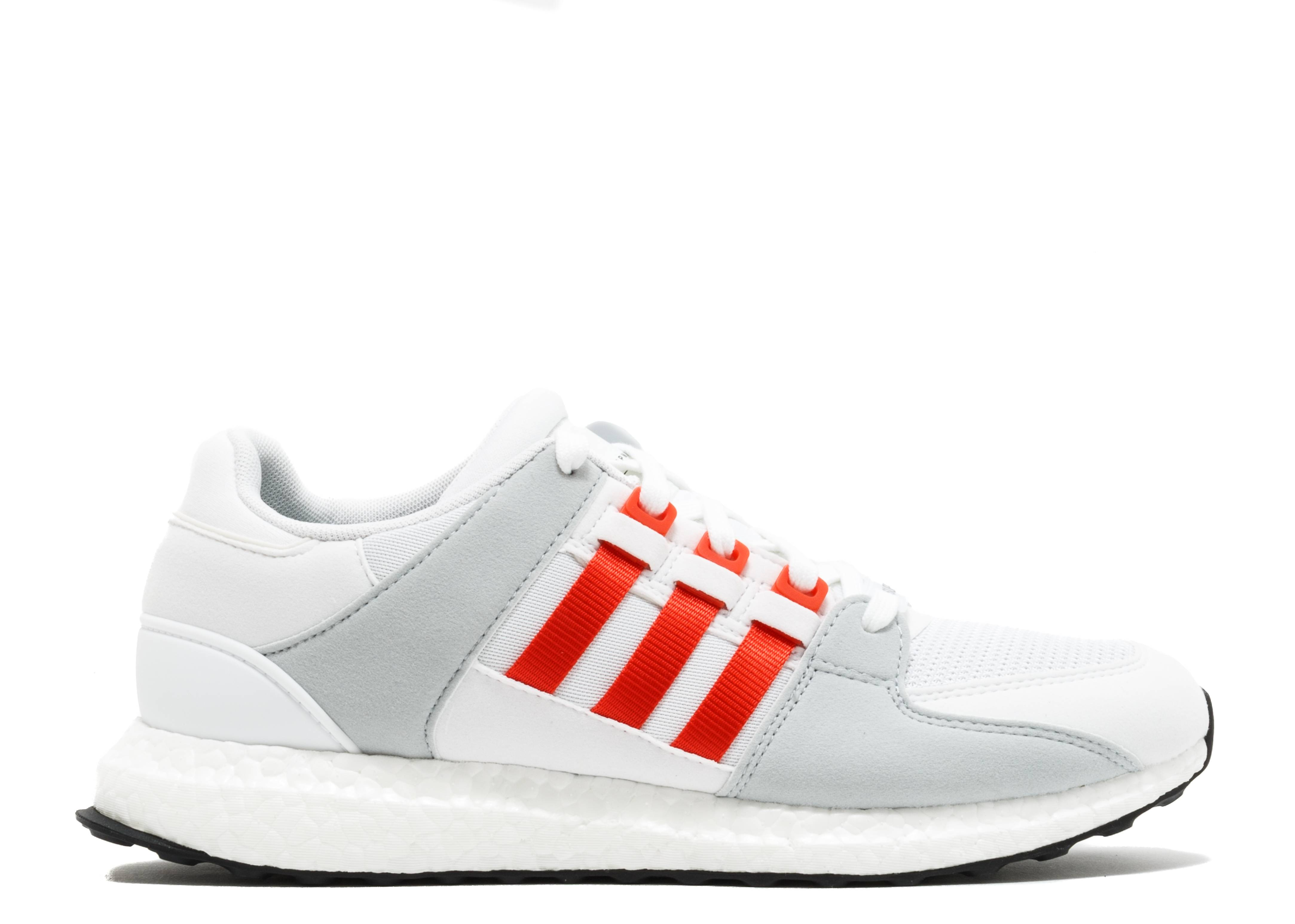 huge selection of bd3d2 3af56 Eqt Support Ultra - Adidas - by9532 - white bold orange clear grey   Flight  Club