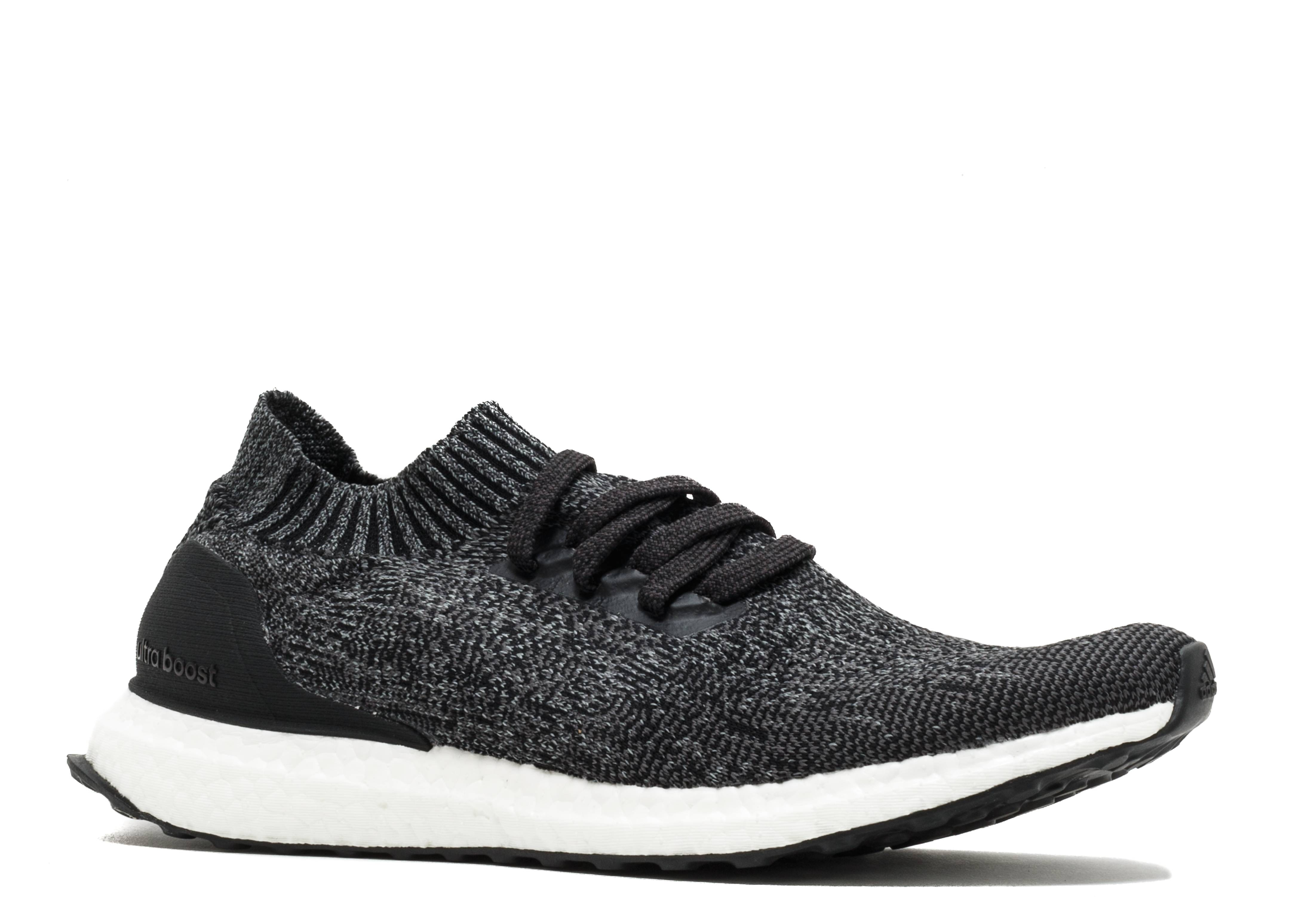 ultra boost uncaged adidas by2551 grey black. Black Bedroom Furniture Sets. Home Design Ideas