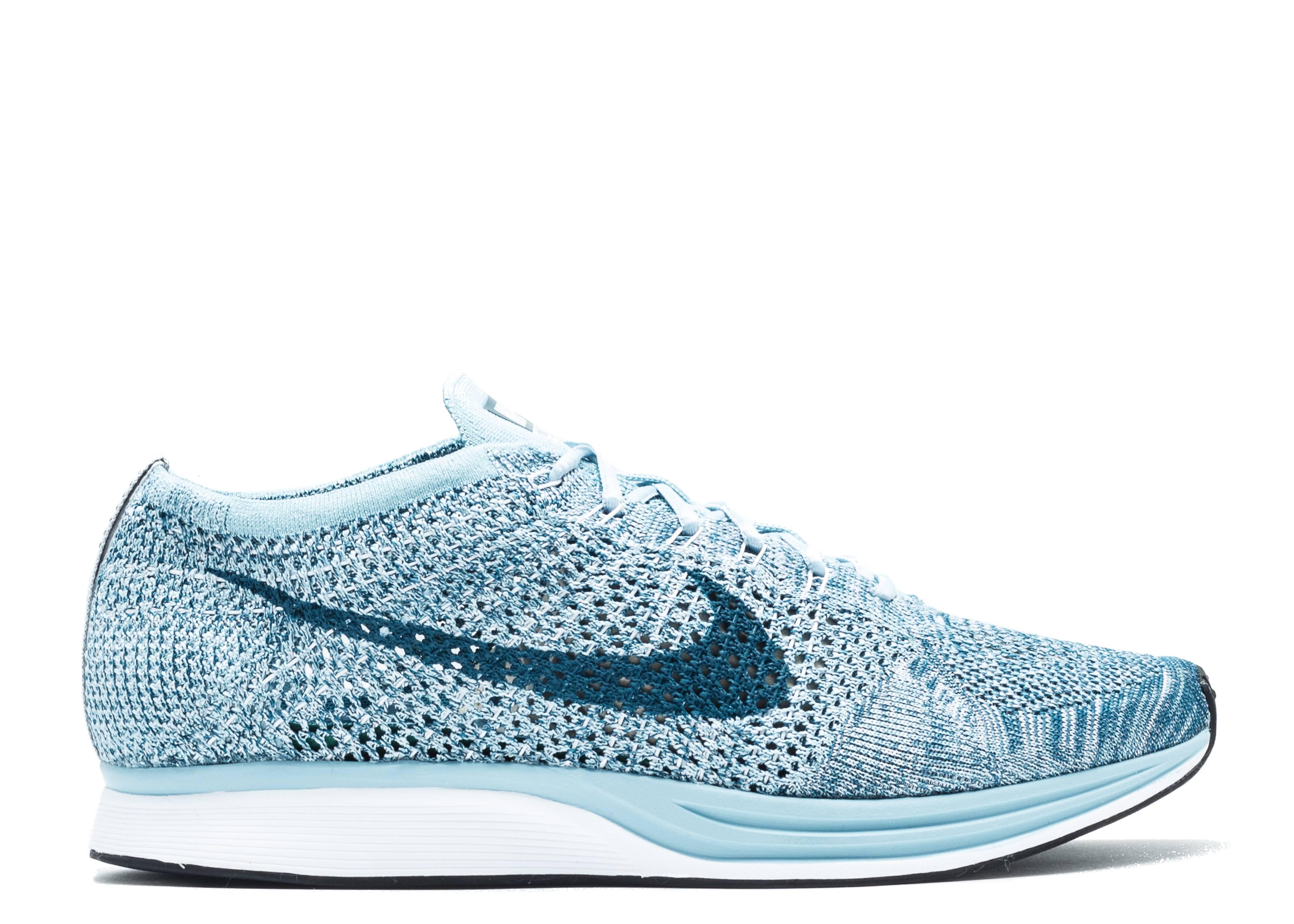 0b811f120af1a Nike Flyknit Racer - Nike - 526628 102 - white   legion blue - mica ...
