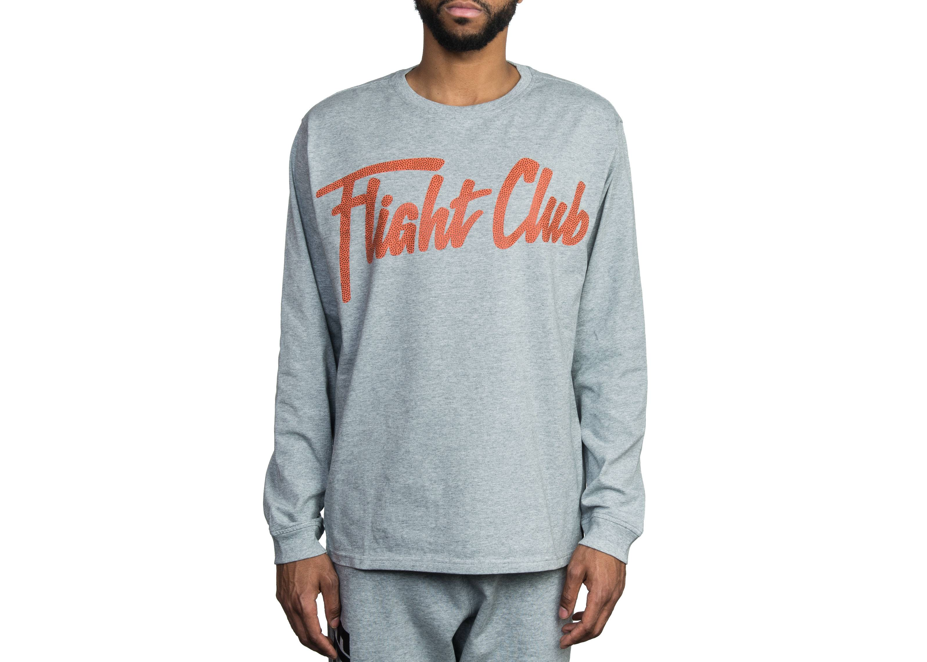 8fe002f3a115 Script LS T-Shirt - Flight Club - FCT24 17 1 - heather orange ...