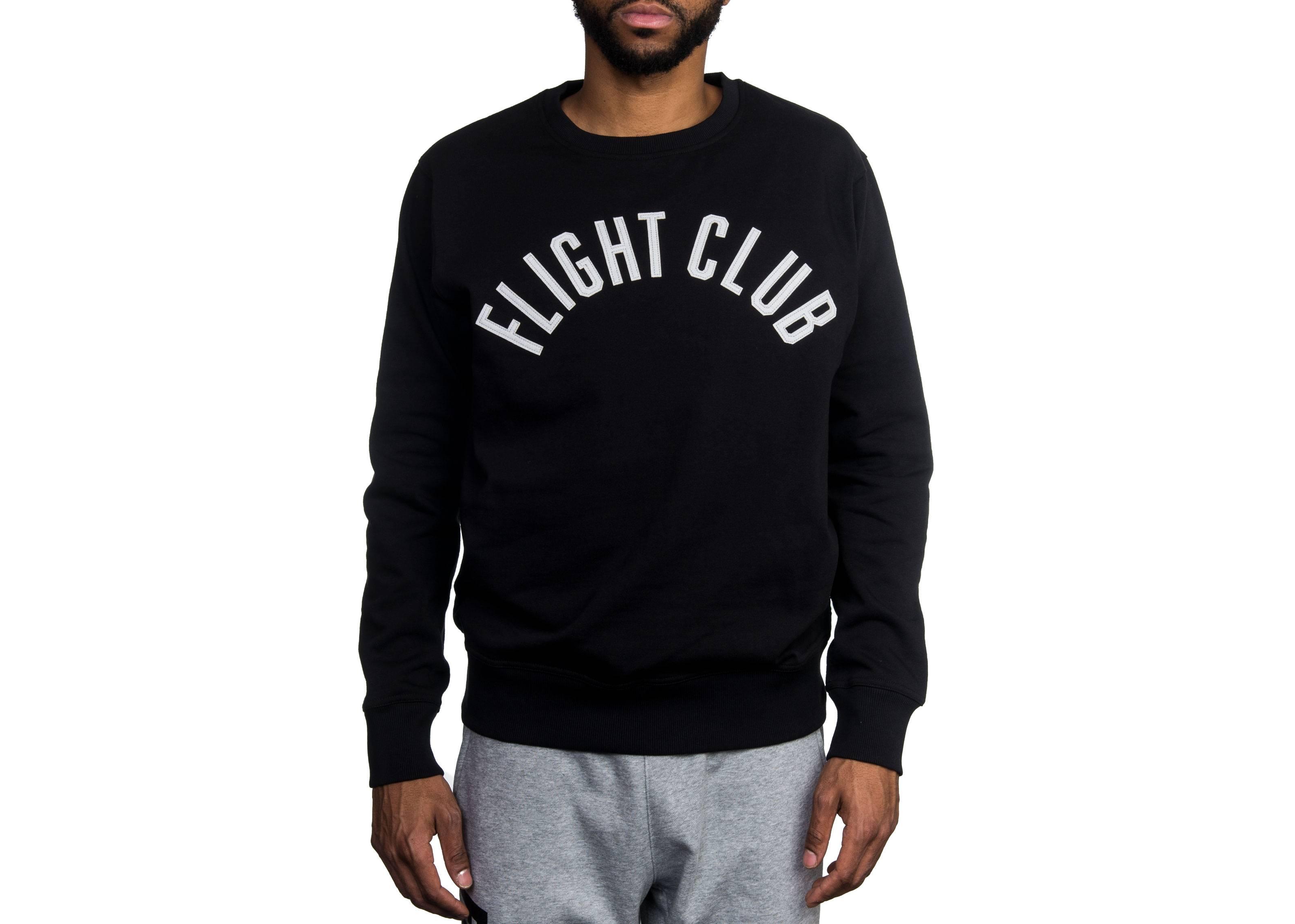 17fd52c7abf5 University Crew Neck Sweatshirt - Flight Club - FCSW07 17 - black ...