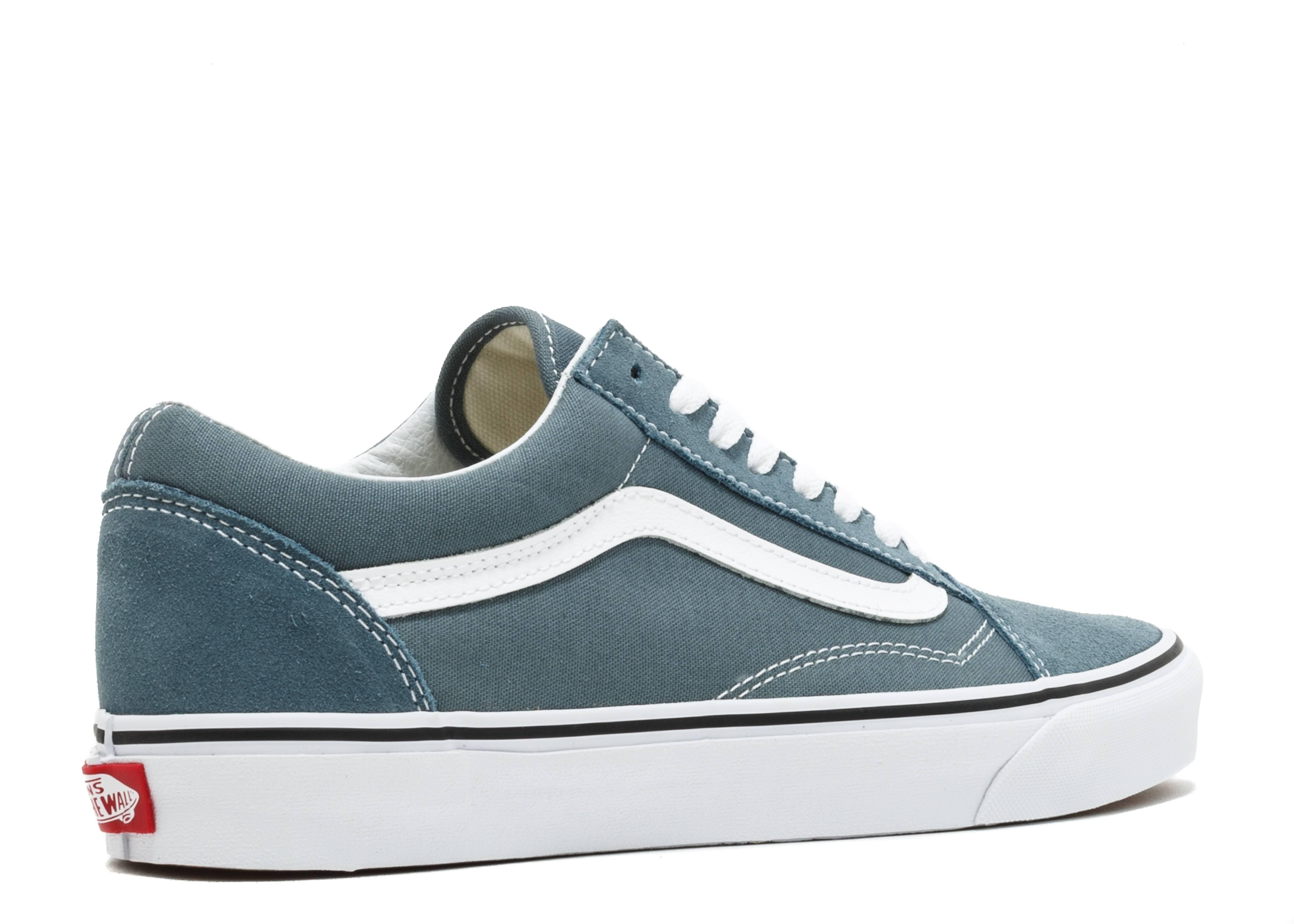 Old Skool - Vans - vn0a38g12lj - goblin blue true white  321254737