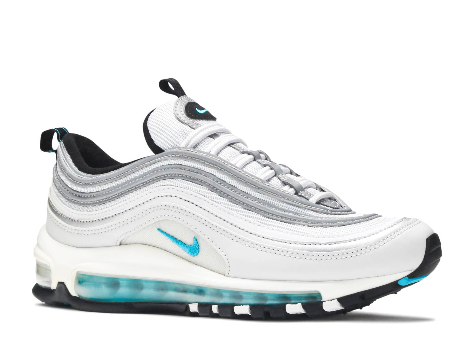 premium selection 0bea7 a5269 W Air Max 97 Qs - Nike - 917647 001 - pure platinum marina blue   Flight  Club