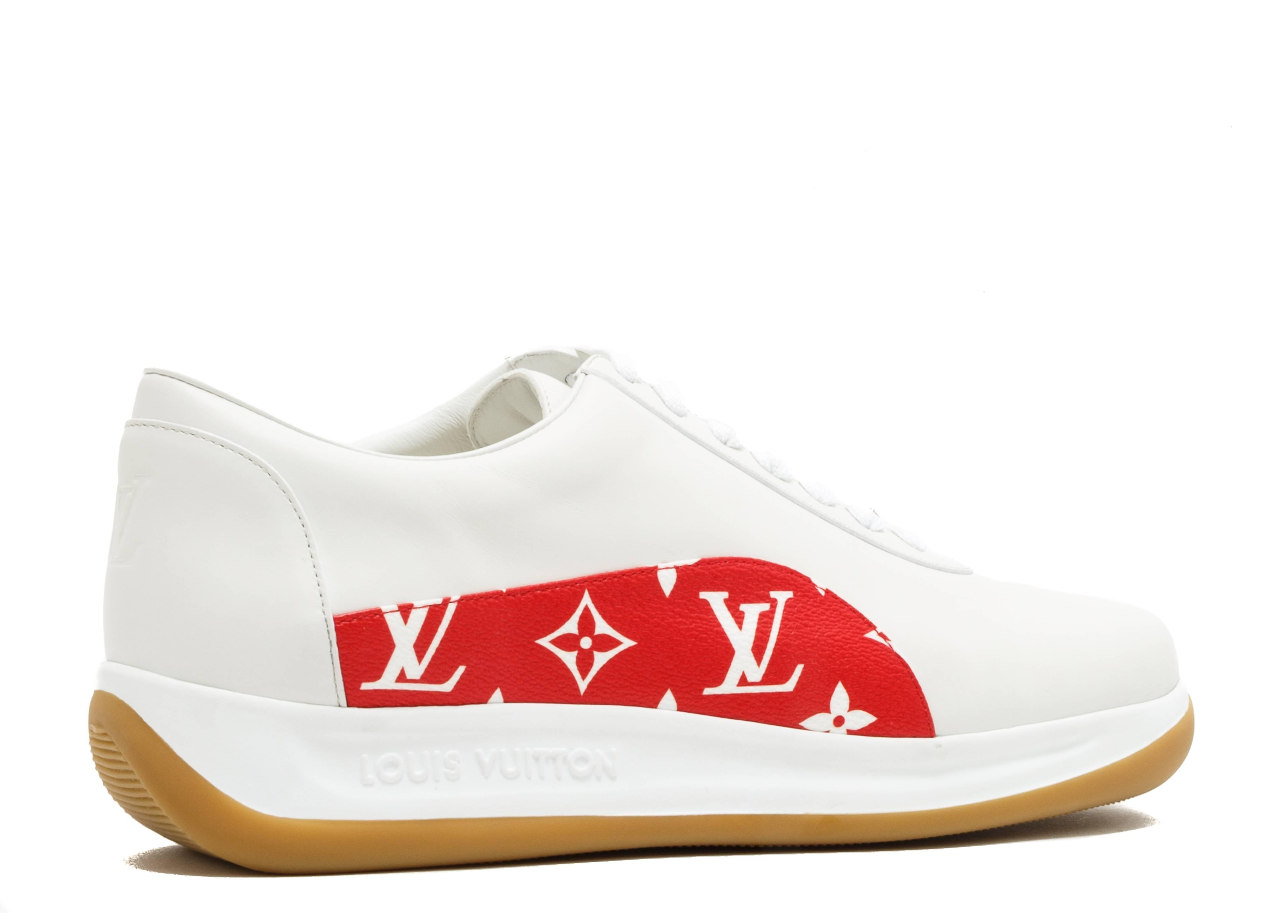 Supreme X Louis Vuitton Louis Vuitton Cl0167 White Red