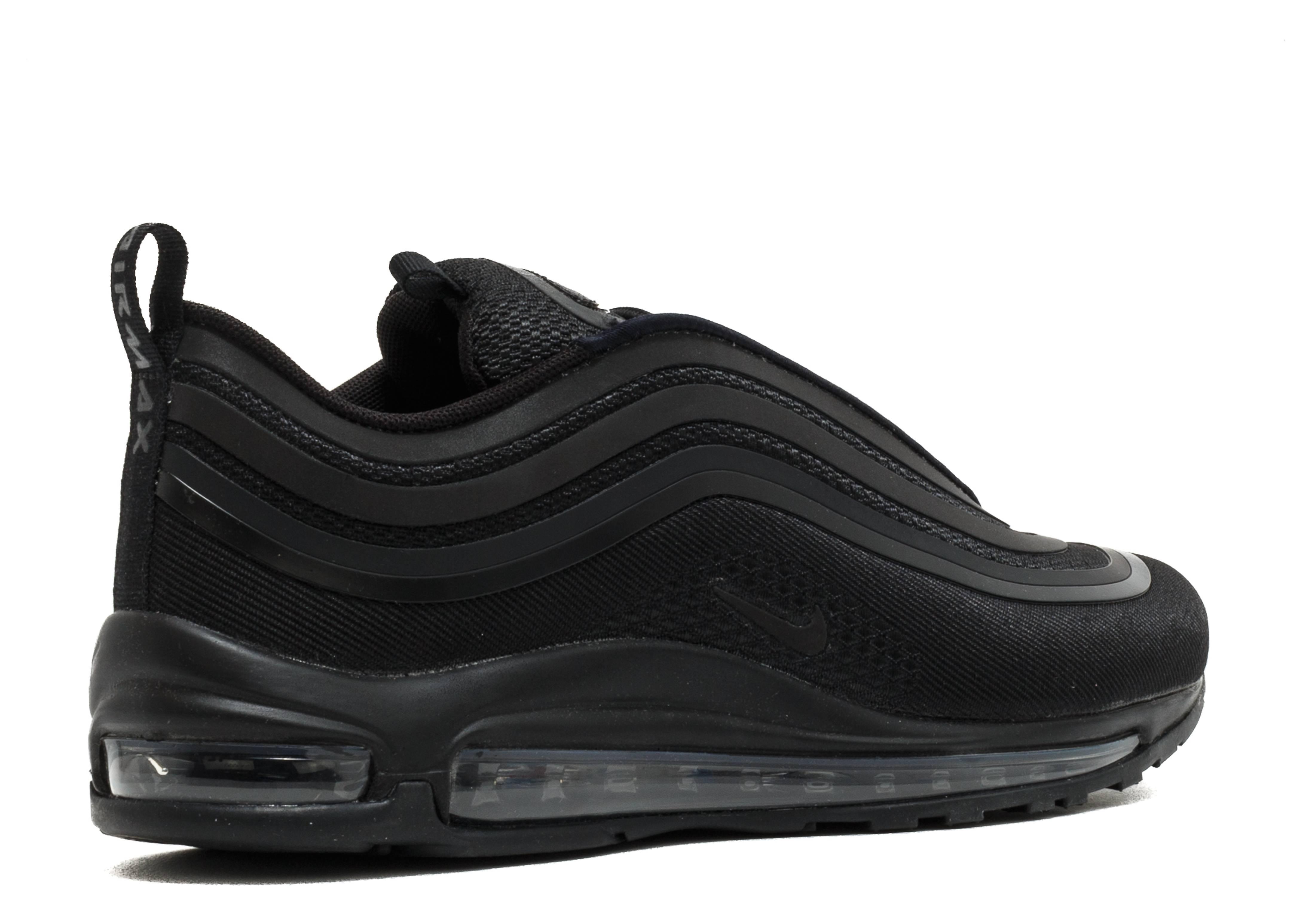 Air Max 97 Ultra 17 'Triple Black' - Nike - 918356 002 - black ...