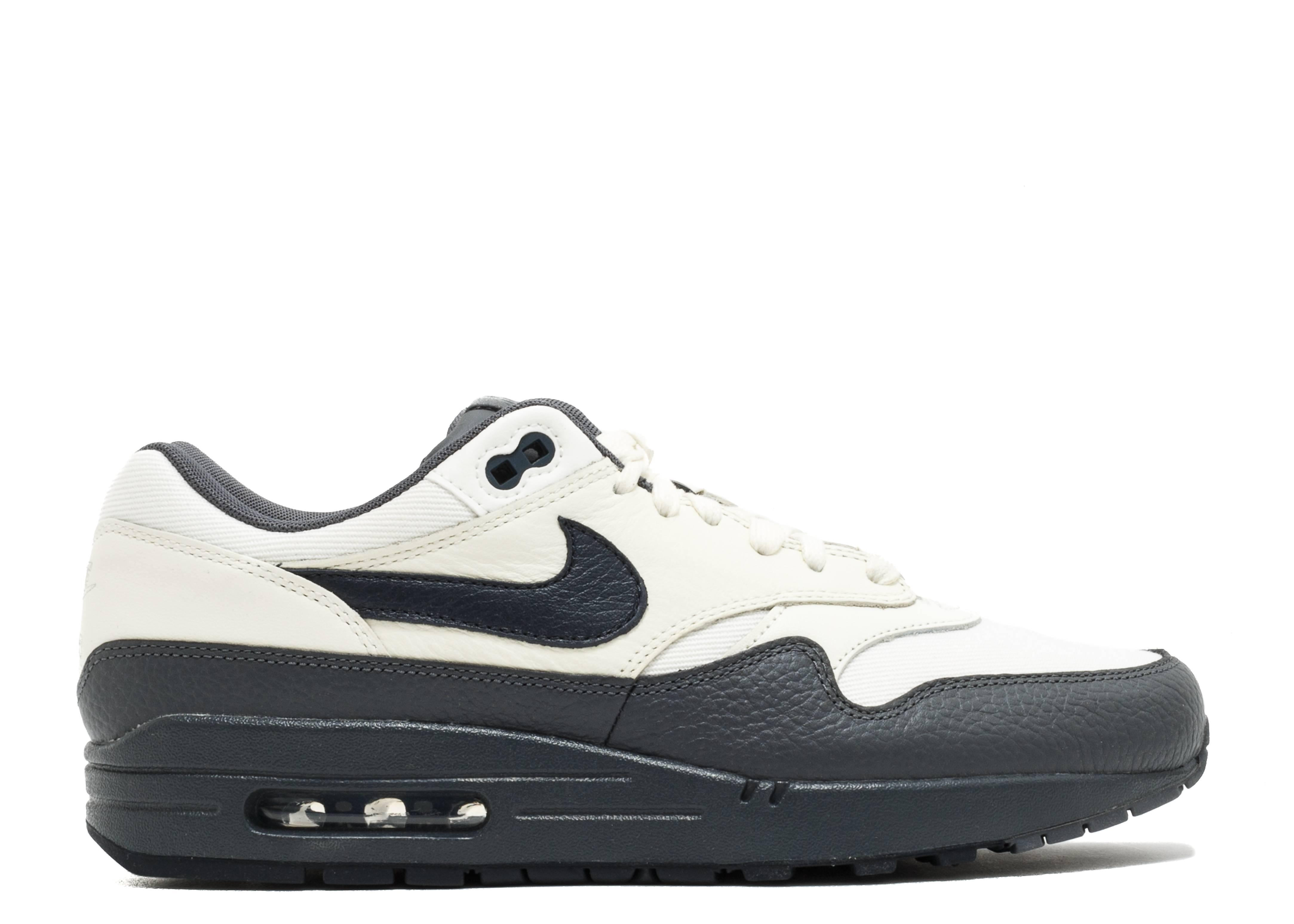 Air Max 1 Premium - Nike - 875844 100 - sail dark obsidian-dark grey ... 0cc015b14e