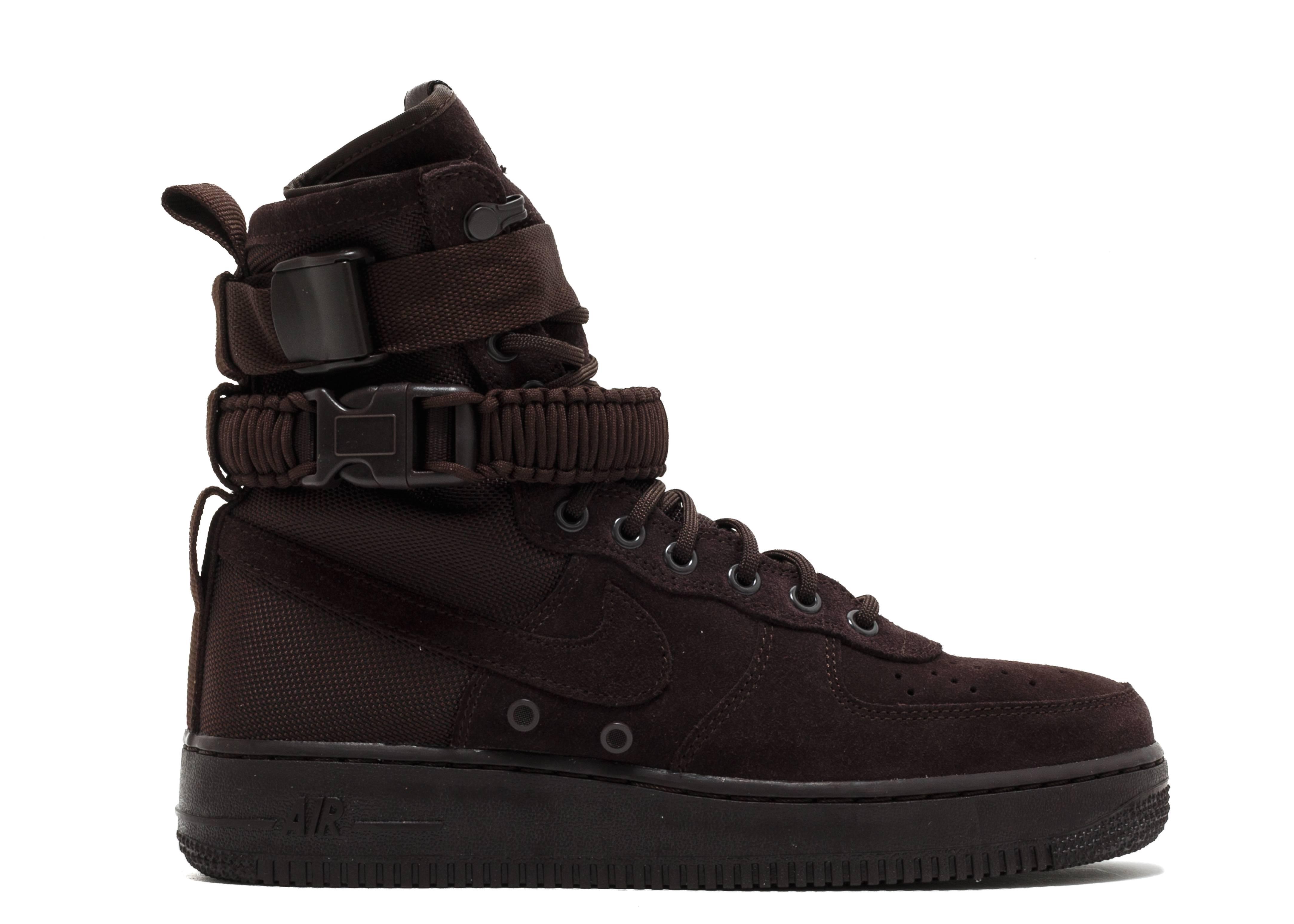 Sf Af1 - Nike - 864024 203 - velvet brown velvet brown  b07f18d01