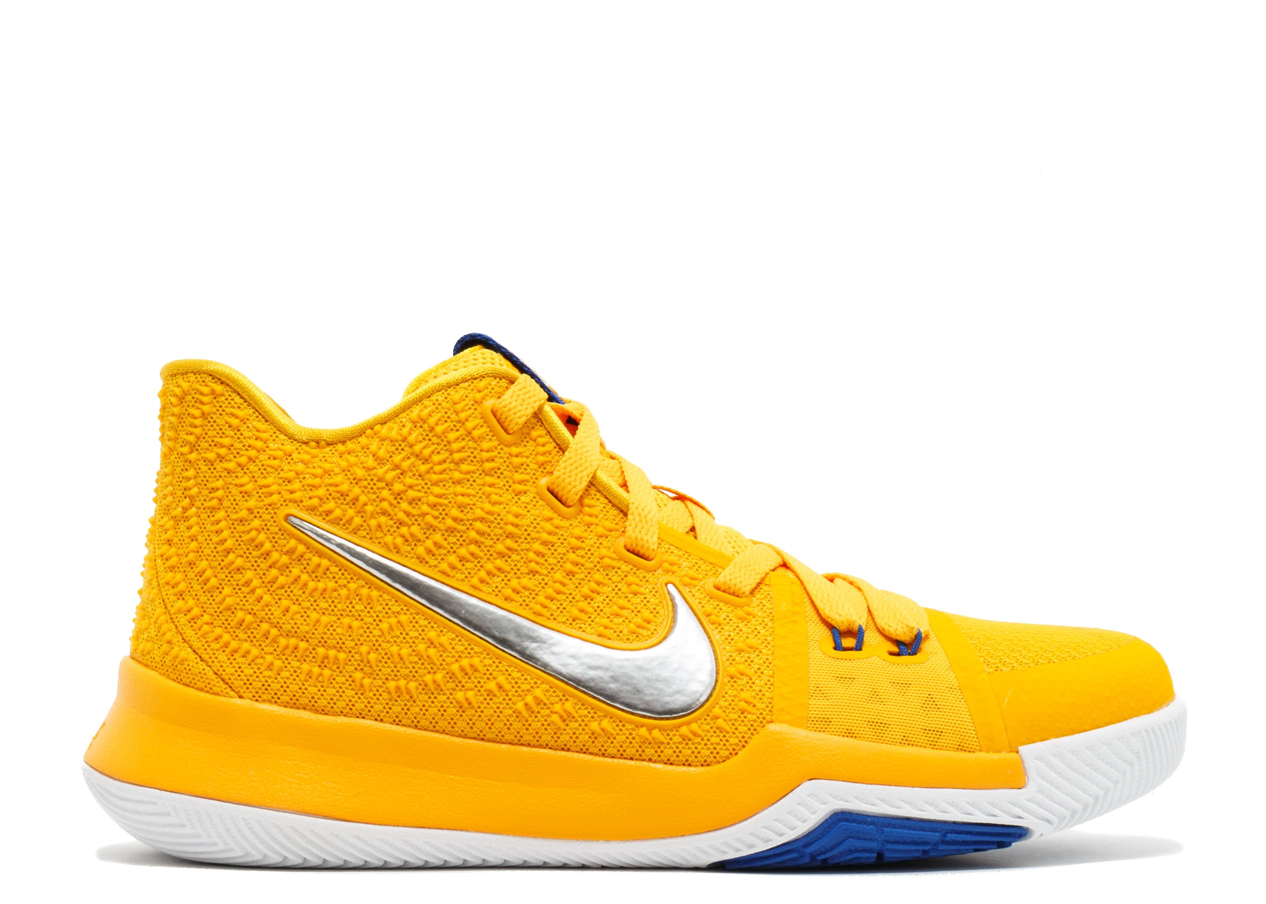 huge discount 5a25a 33703 Kyrie 3 (gs) - Nike - 859466 791 - university gold chrome-white ...