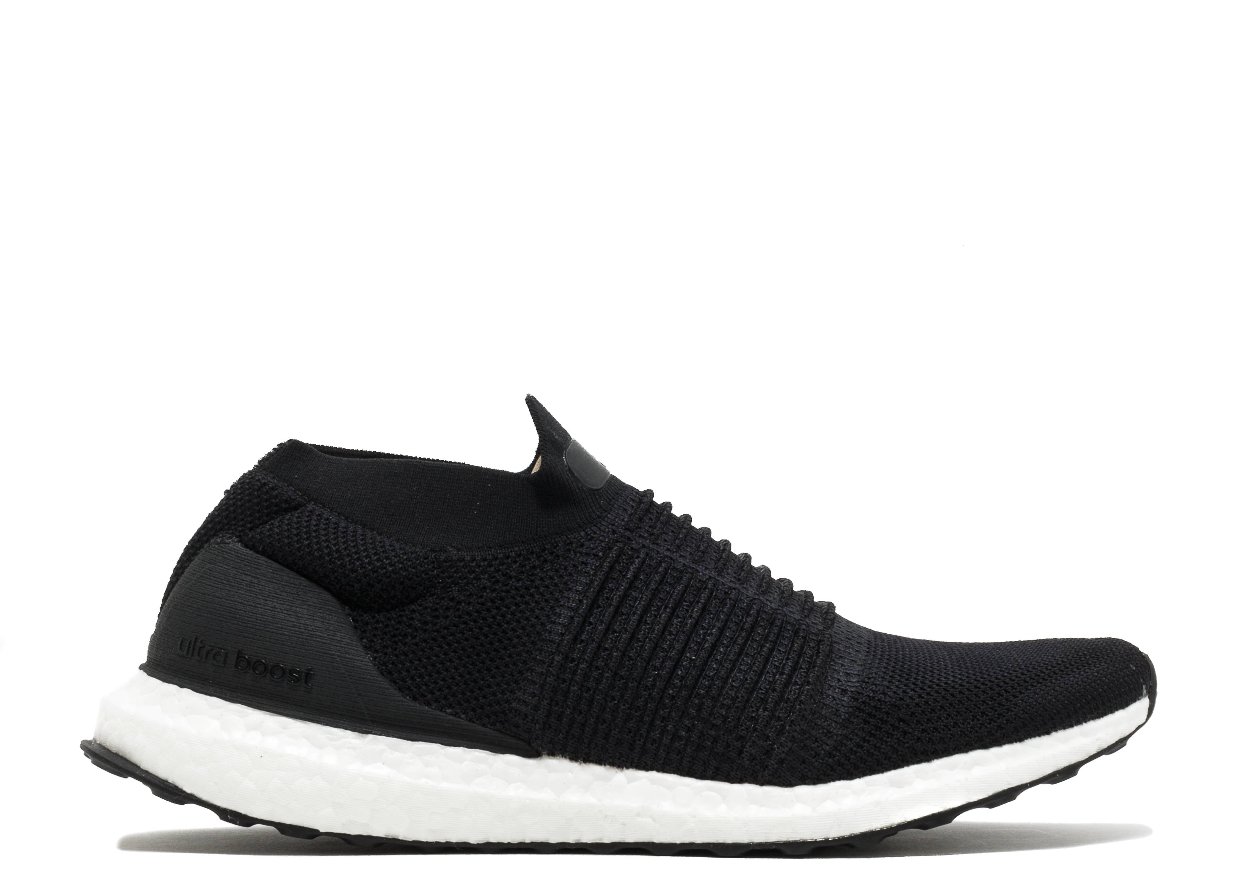Adidas Men's Ultraboost Laceless NEW AUTHENTIC Black/Black-White S80770