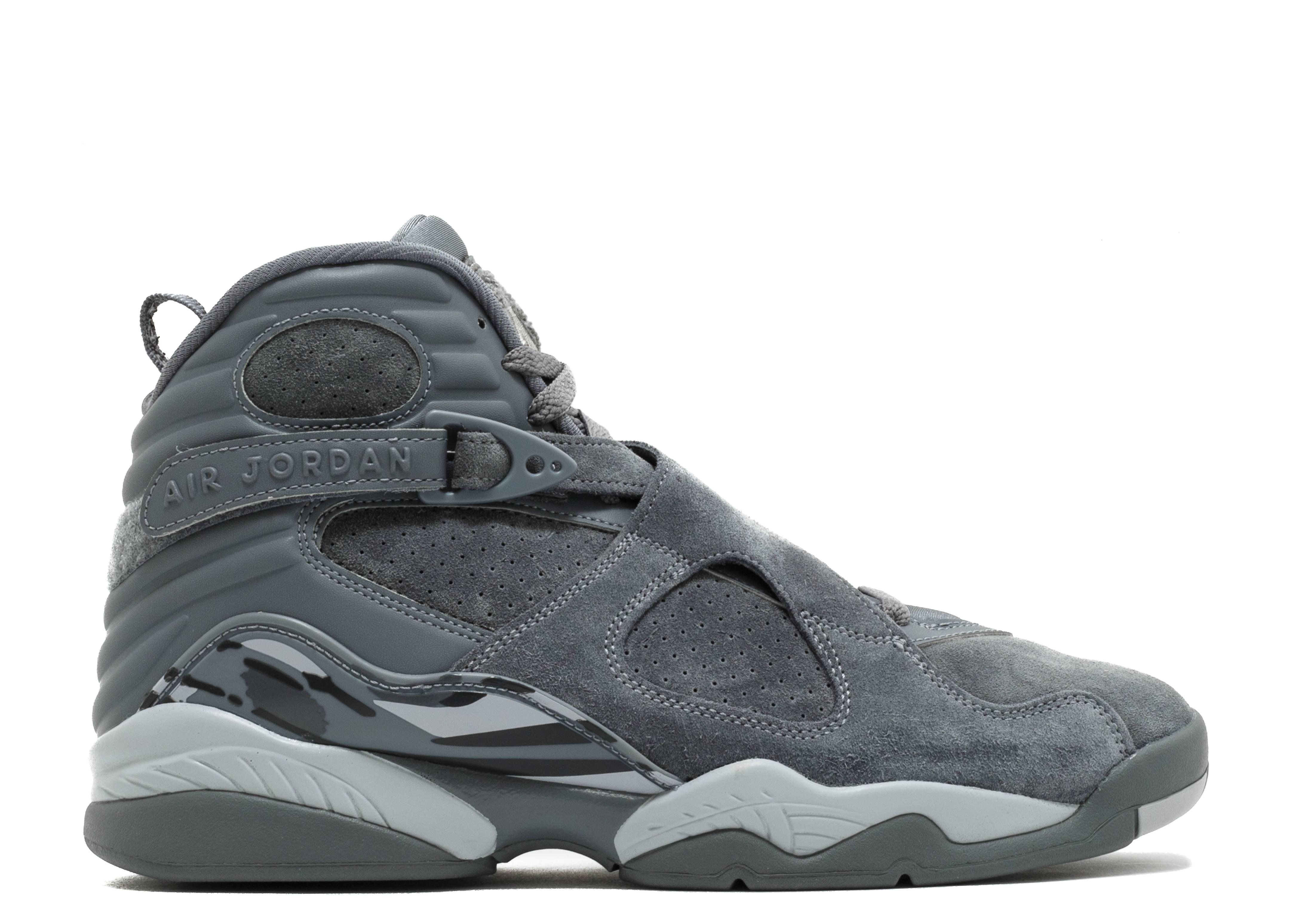 Bildresultat för Jordan 8 cool grey