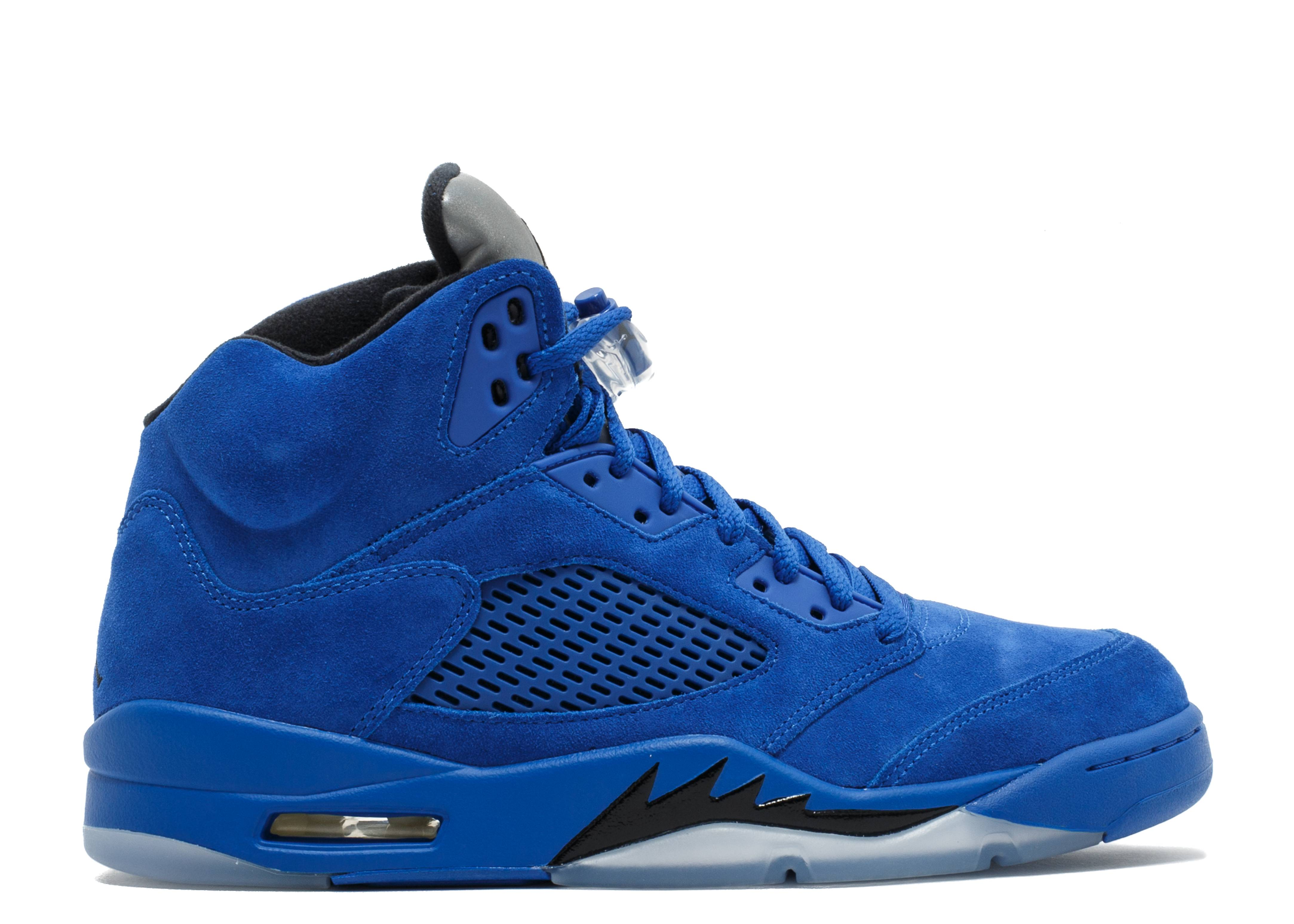 Air Jordan 5 Retro 'Blue Suede'
