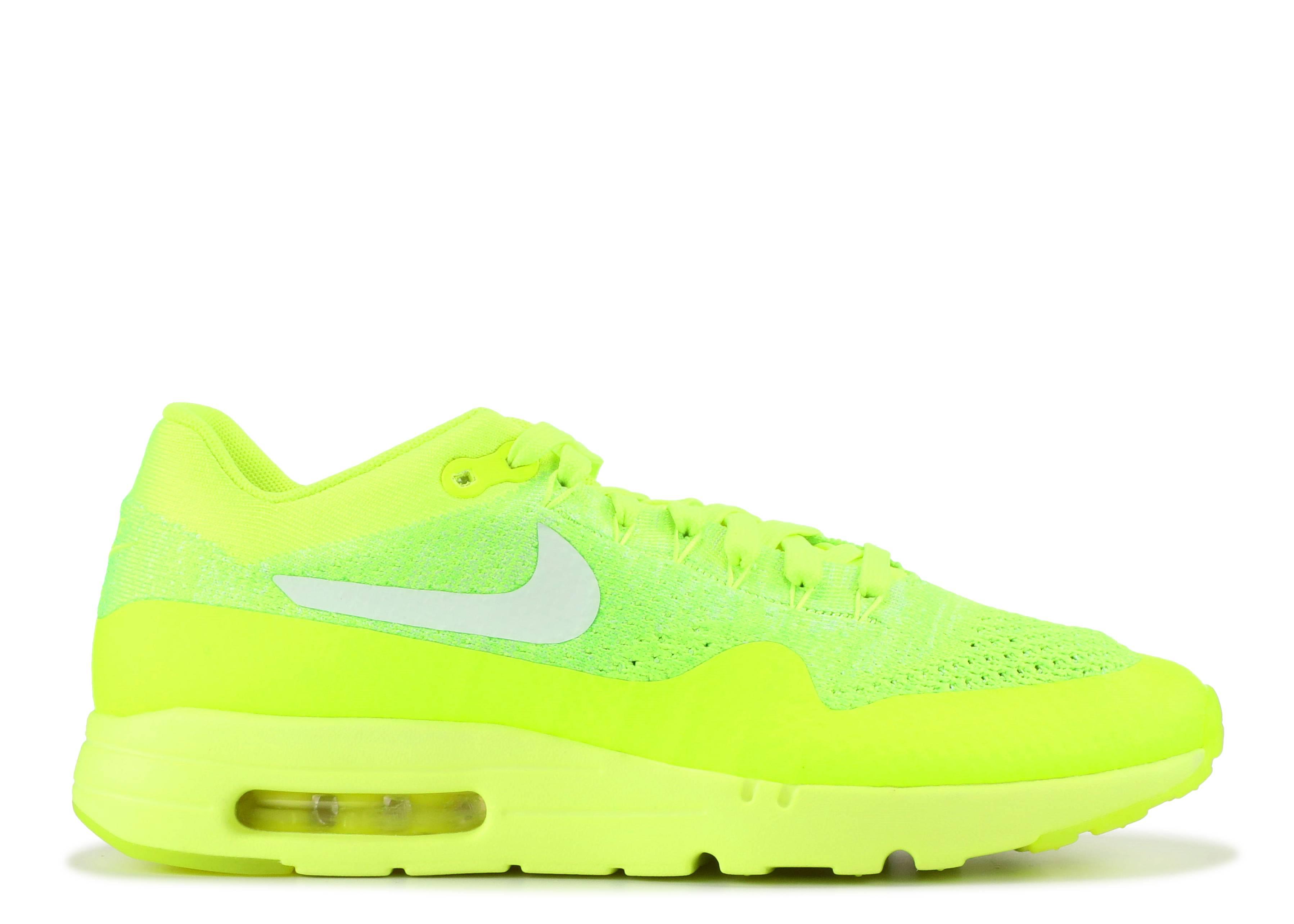 """Nike air max 1 ultra flyknit """"Volt"""""""