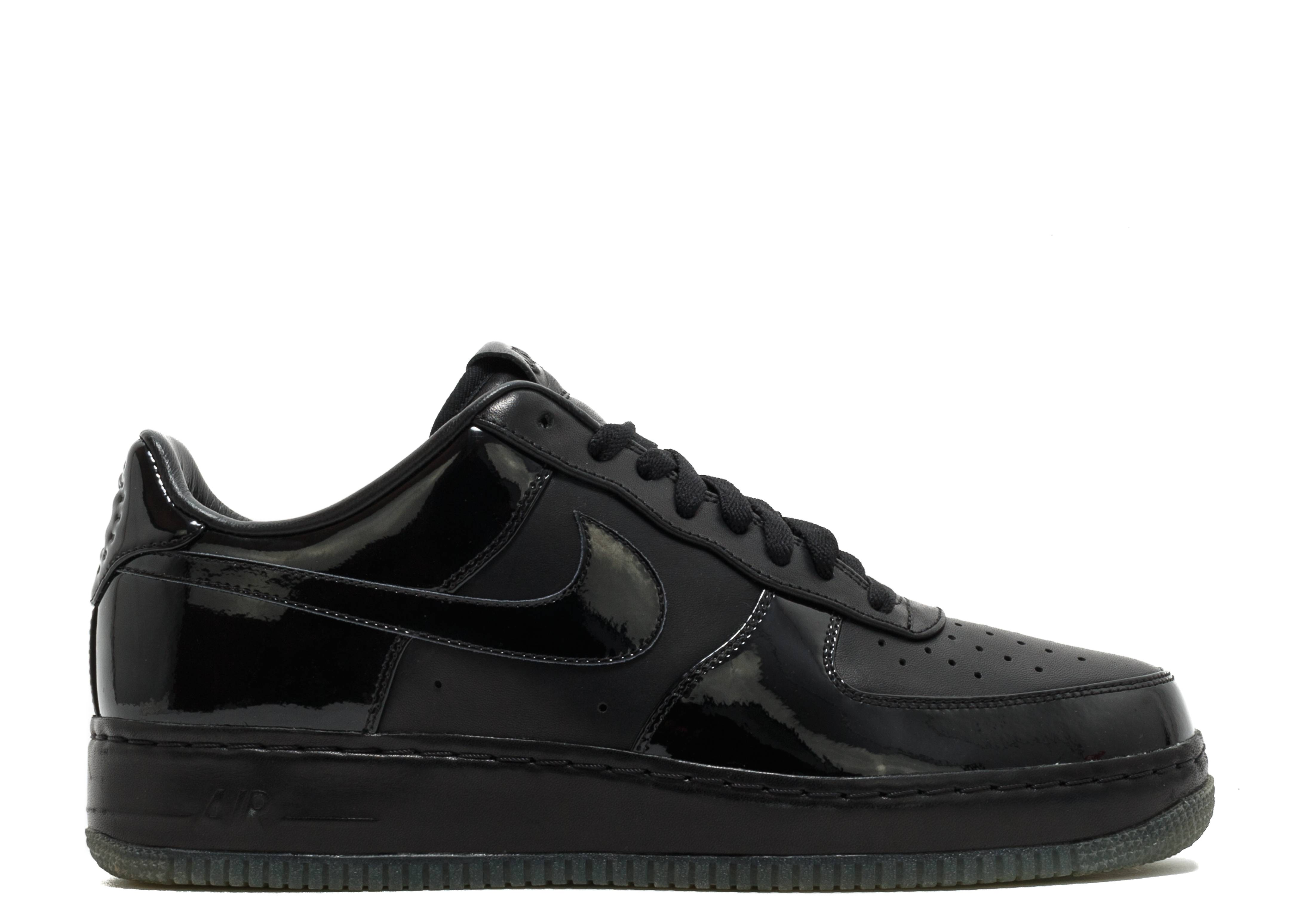 """Nike Air Force One Sprm """"jay-z """"All Black Everything"""""""""""