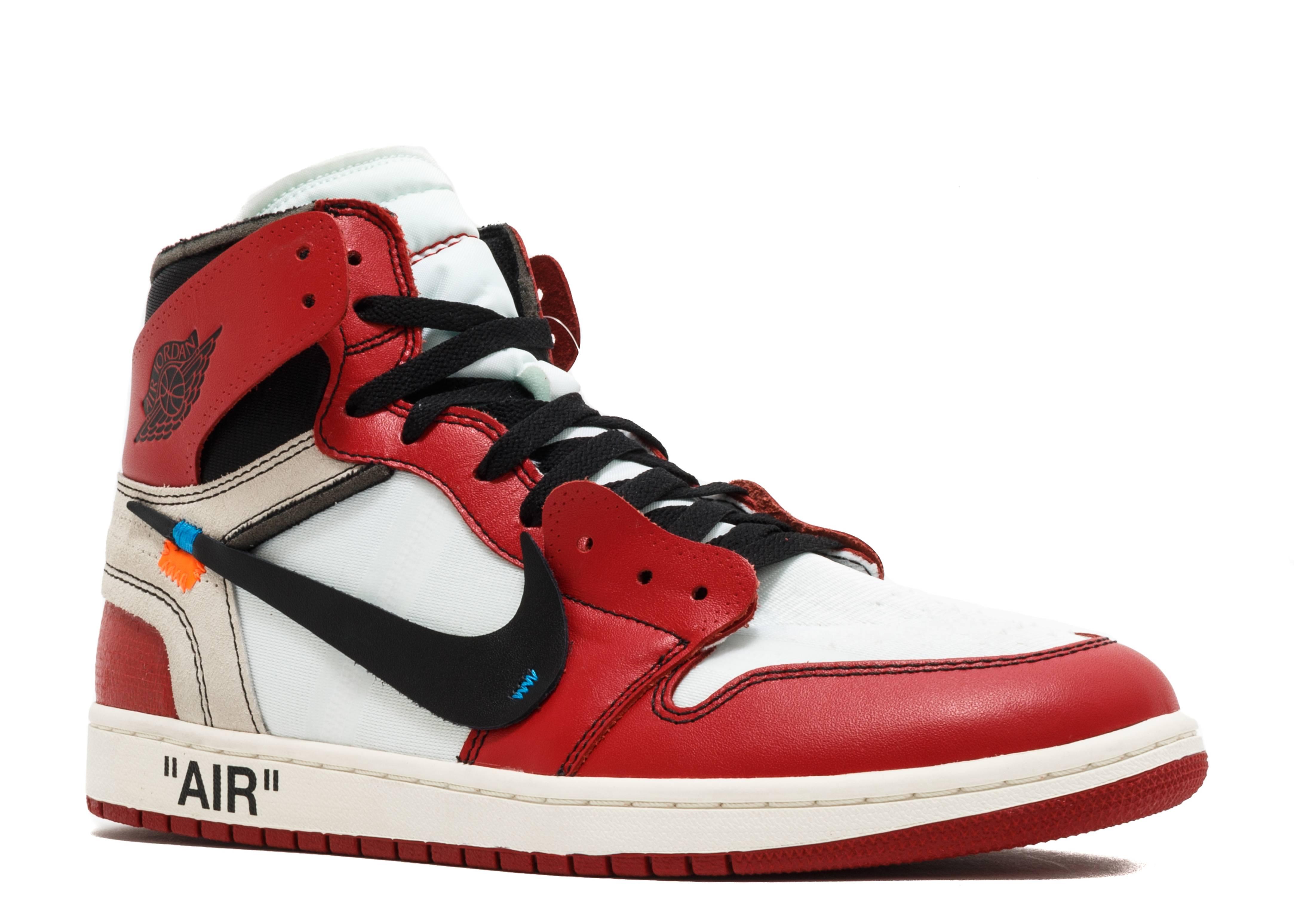 b649e3861cb4e0 Jordan 1 Retro High Off-White Chicago - 1