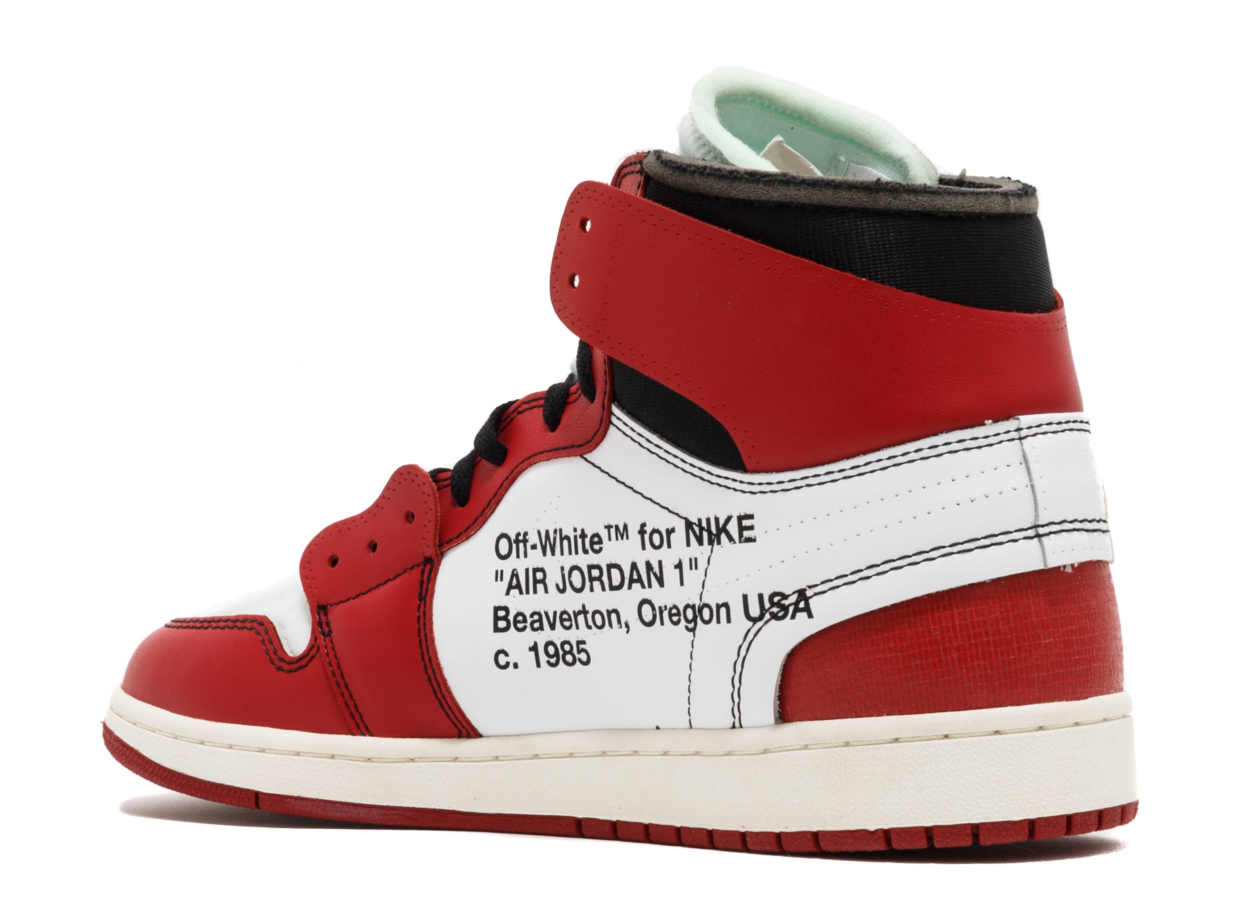 Off-White x Air Jordan 1 Retro High OG 'Chicago'