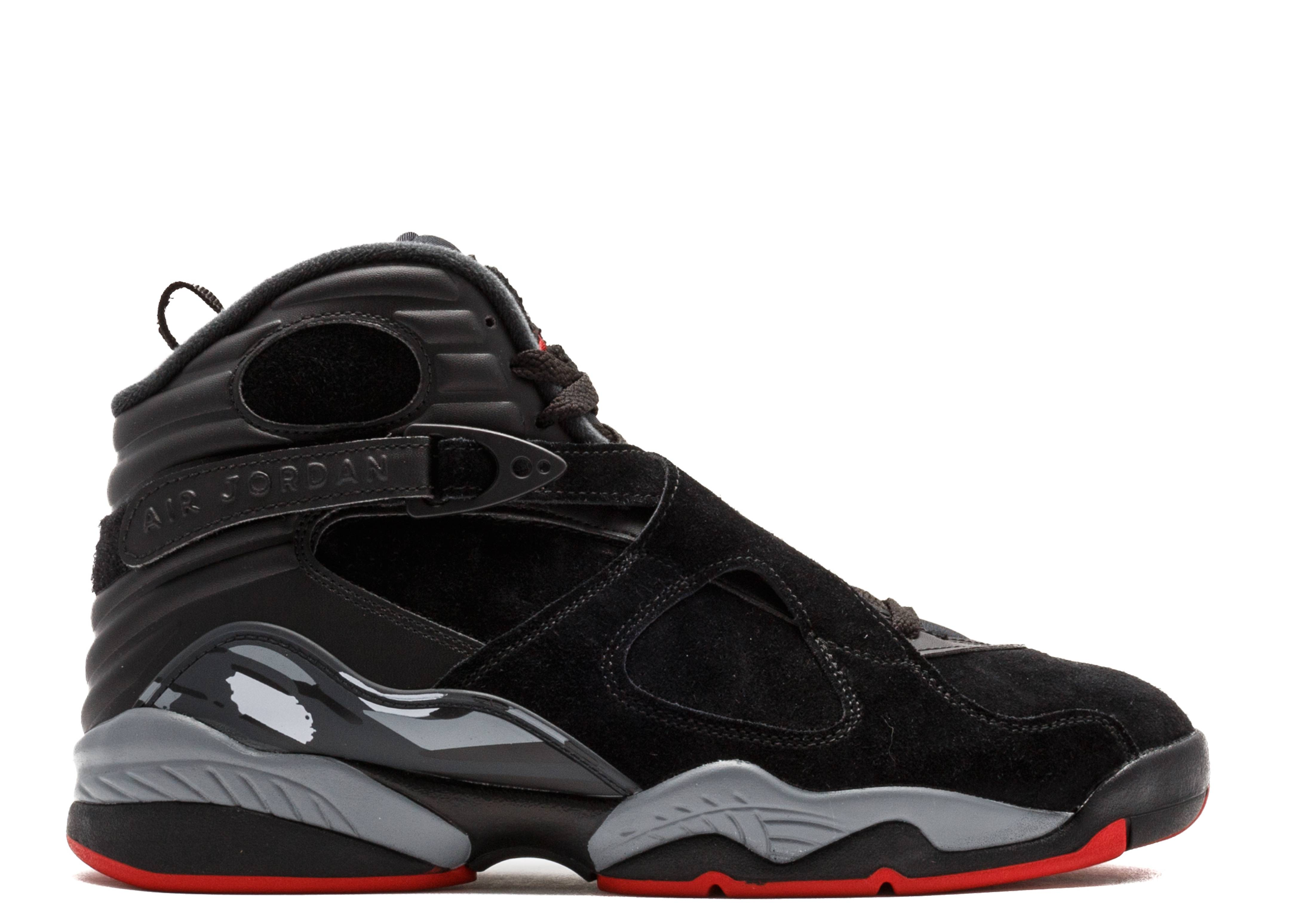 197e8a0e381f77 Air Jordan 8 Retro - Air Jordan - 305381 022 - black gym red-black ...