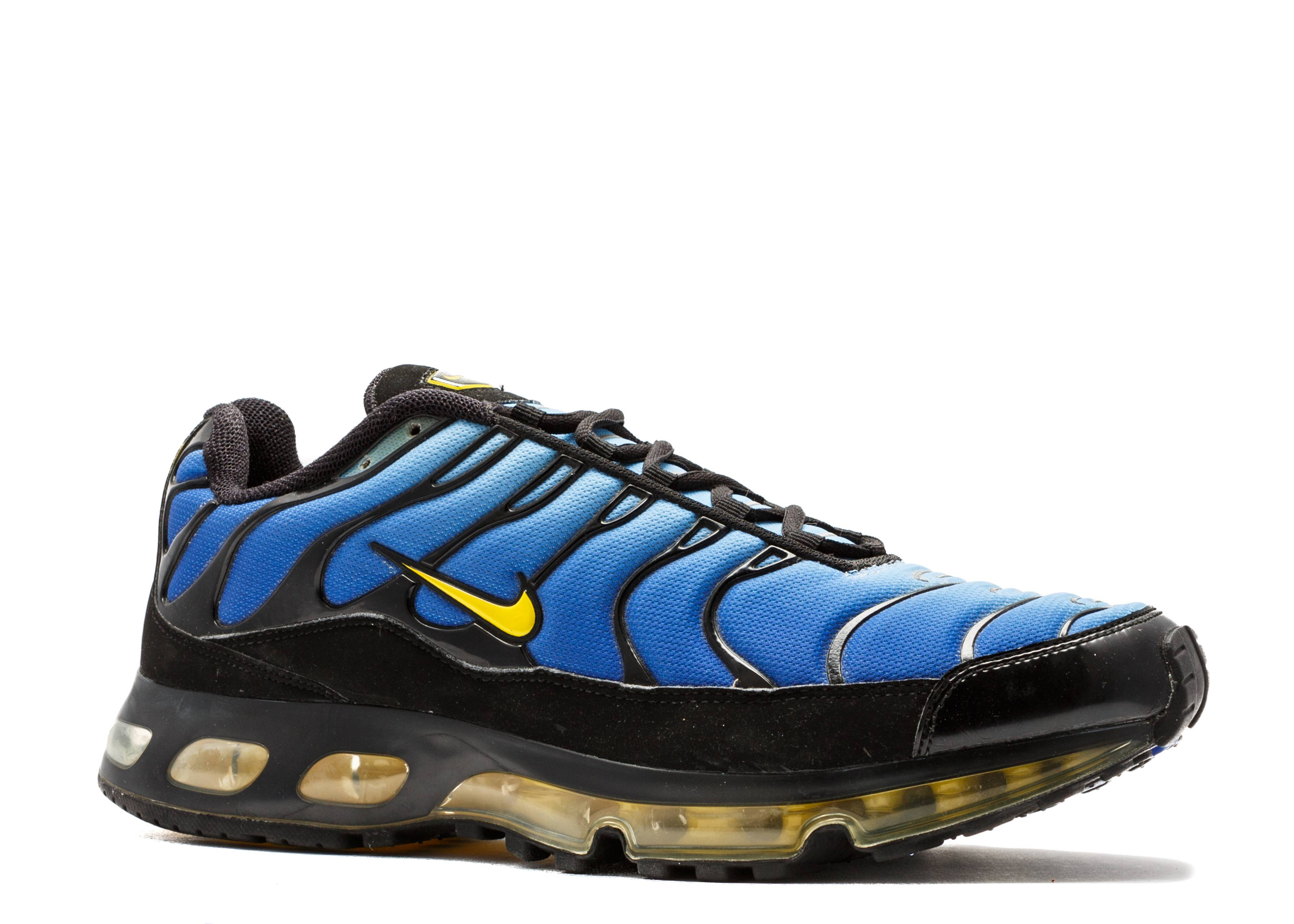 nike air max tn 360 black blue yellow. Black Bedroom Furniture Sets. Home Design Ideas