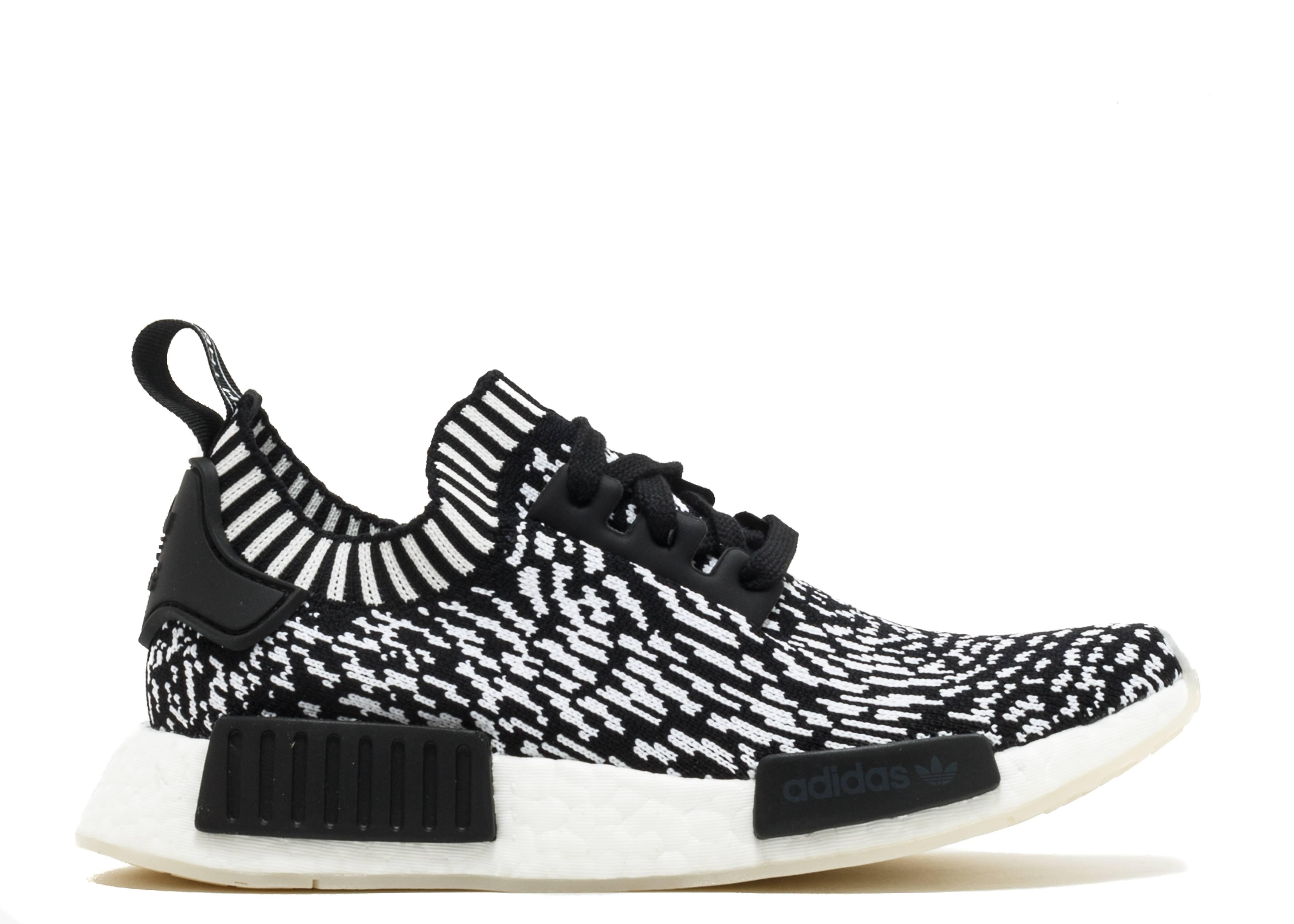 Nmd R1 Primeknit Zebra Adidas By3013 Core Black White