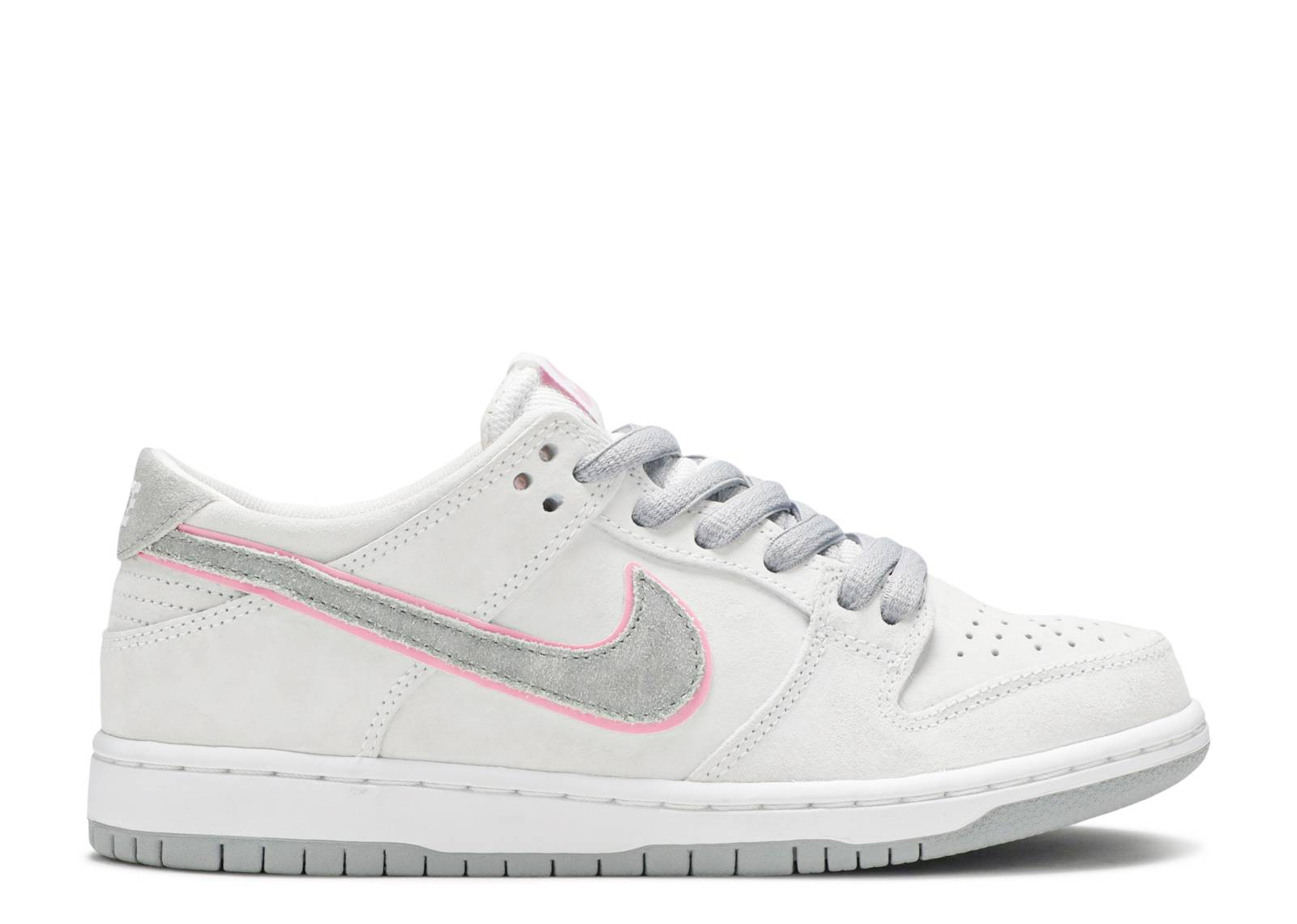 Nike Sb Dunk Low Pro Iw - Nike - 895969 160 - white perfect pink-flt ... 5531abae3