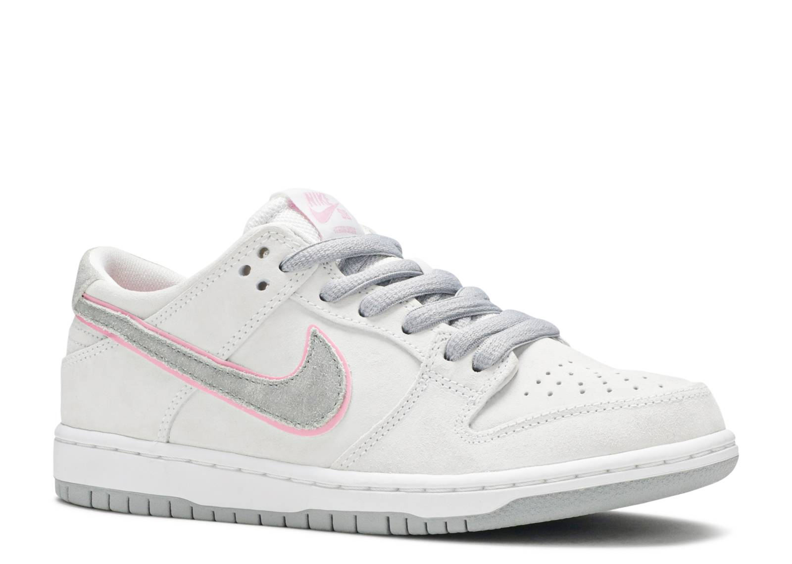 08f26f7c121 Nike Sb Dunk Low Pro Iw - Nike - 895969 160 - white perfect pink-flt silver