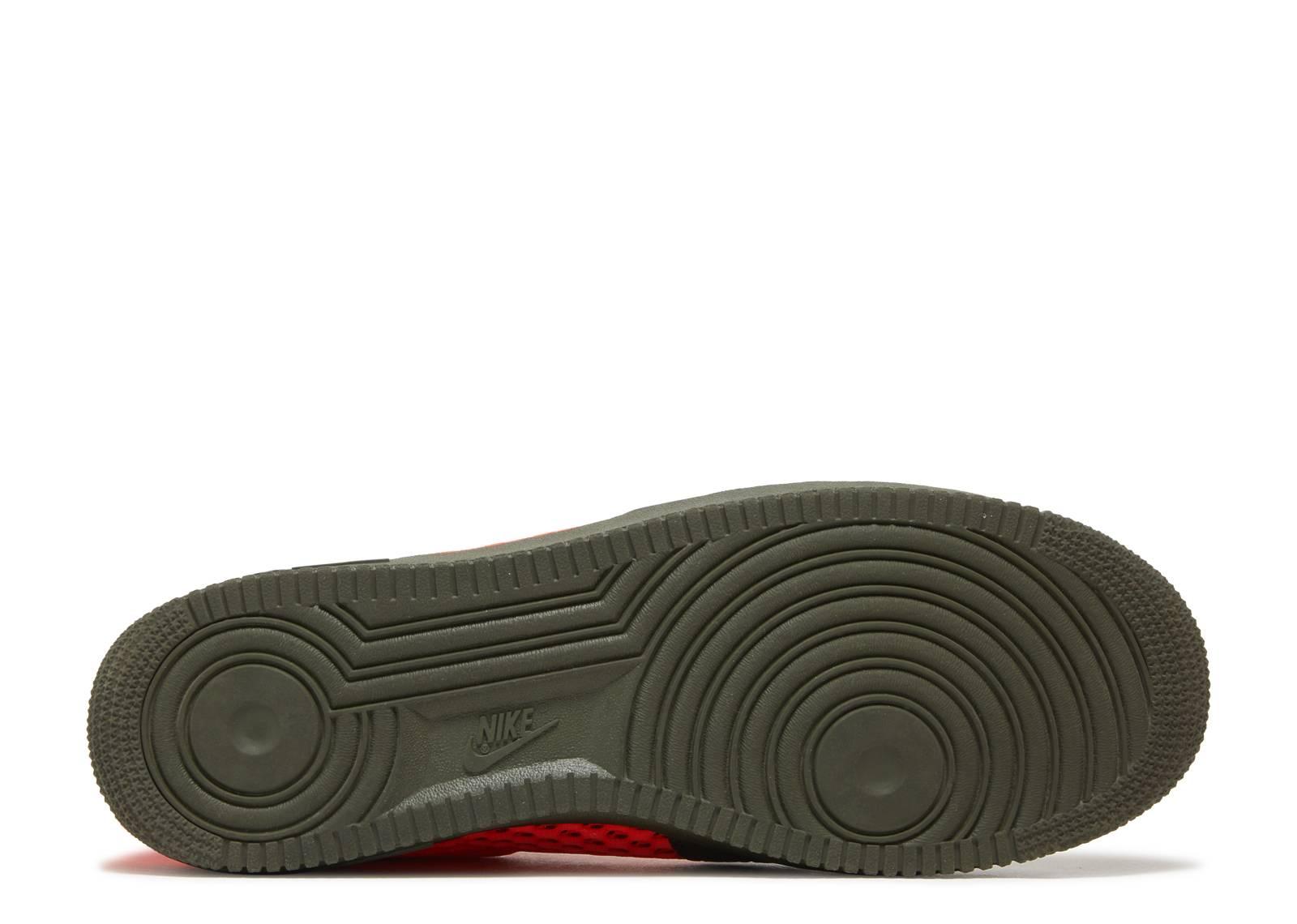 8da62d39a1bad9 Sf AF1 Mid QS - Nike - aa7345 300 - cargo khaki total crimson ...