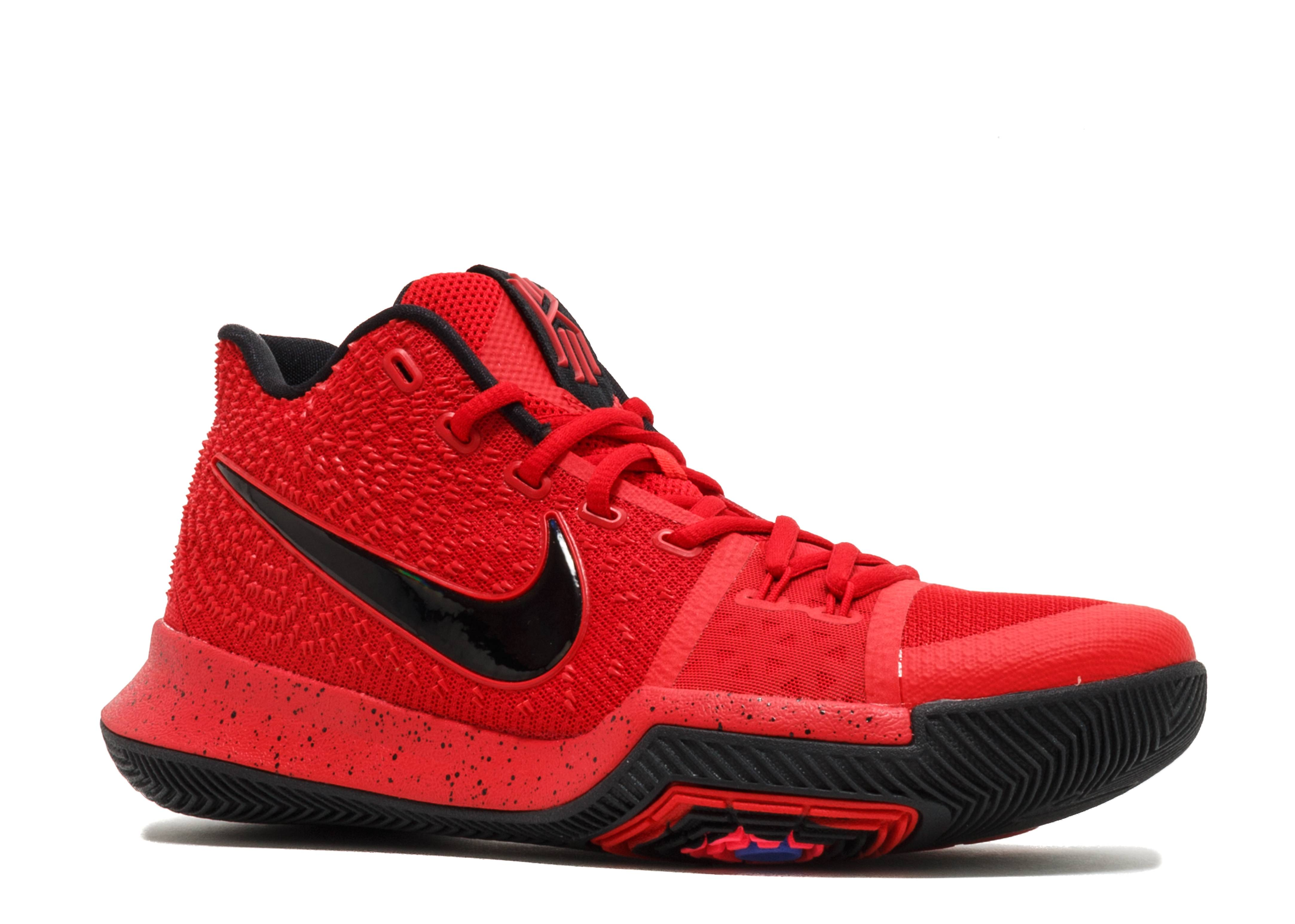 best loved 0c2f5 25fdc Kyrie 3 - Nike - 852395 600 - university red black-team red   Flight Club
