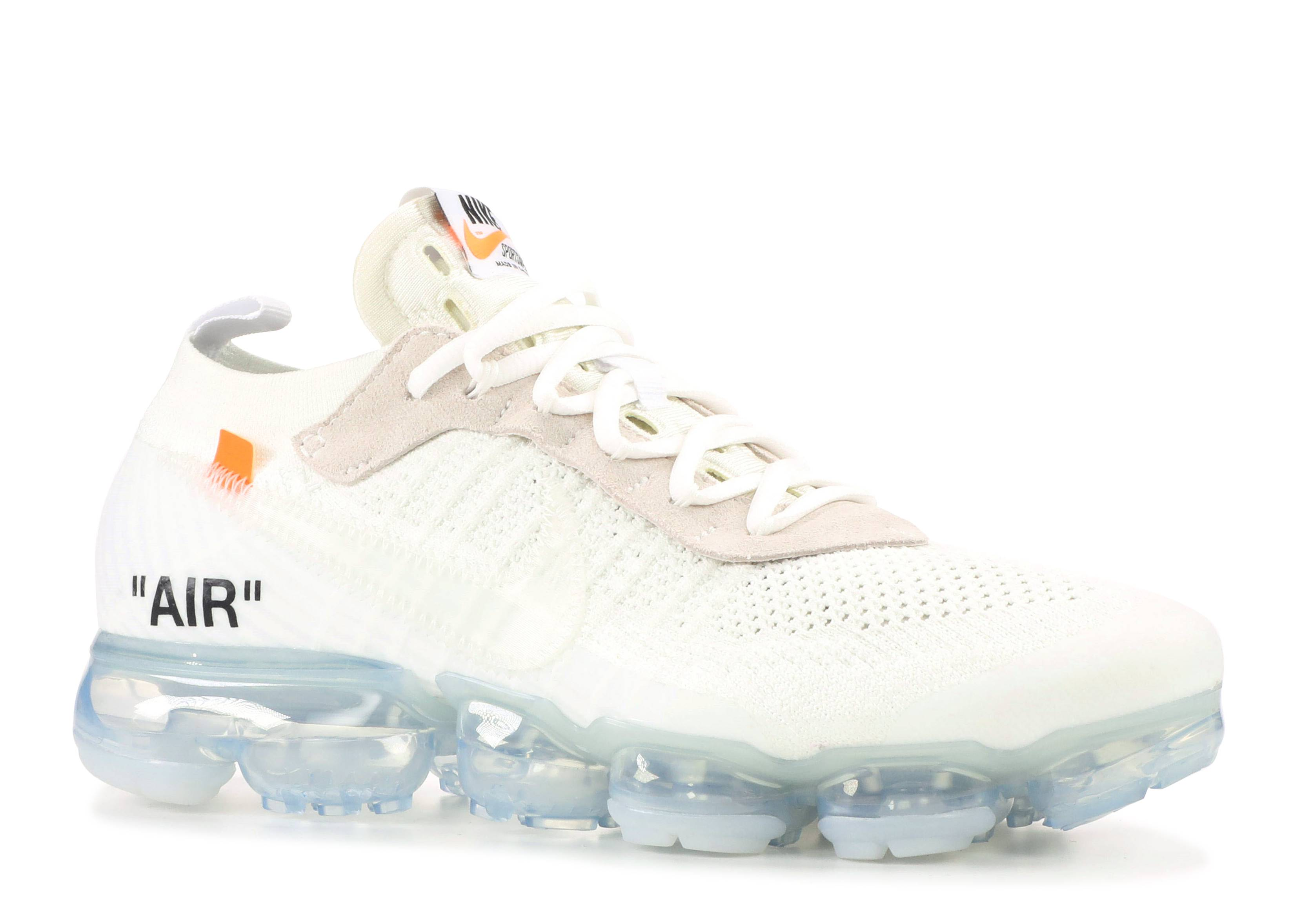 panel Reactor Aprendiz  Off White X Air VaporMax 'Part 2' - Nike - AA3831 100 - white/total  orange-black | Flight Club