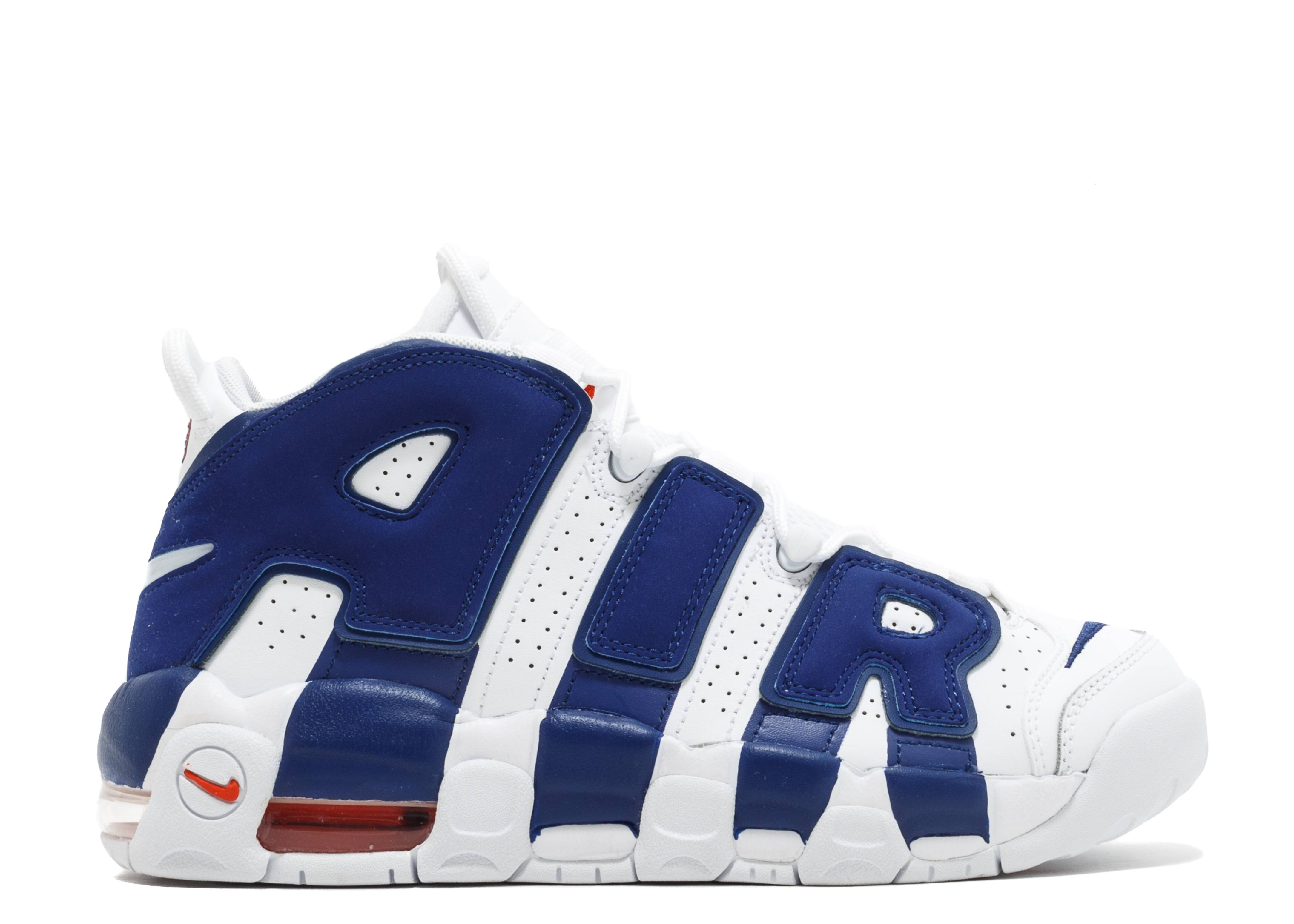 "nike air uptempo (gs) ""knicks"""