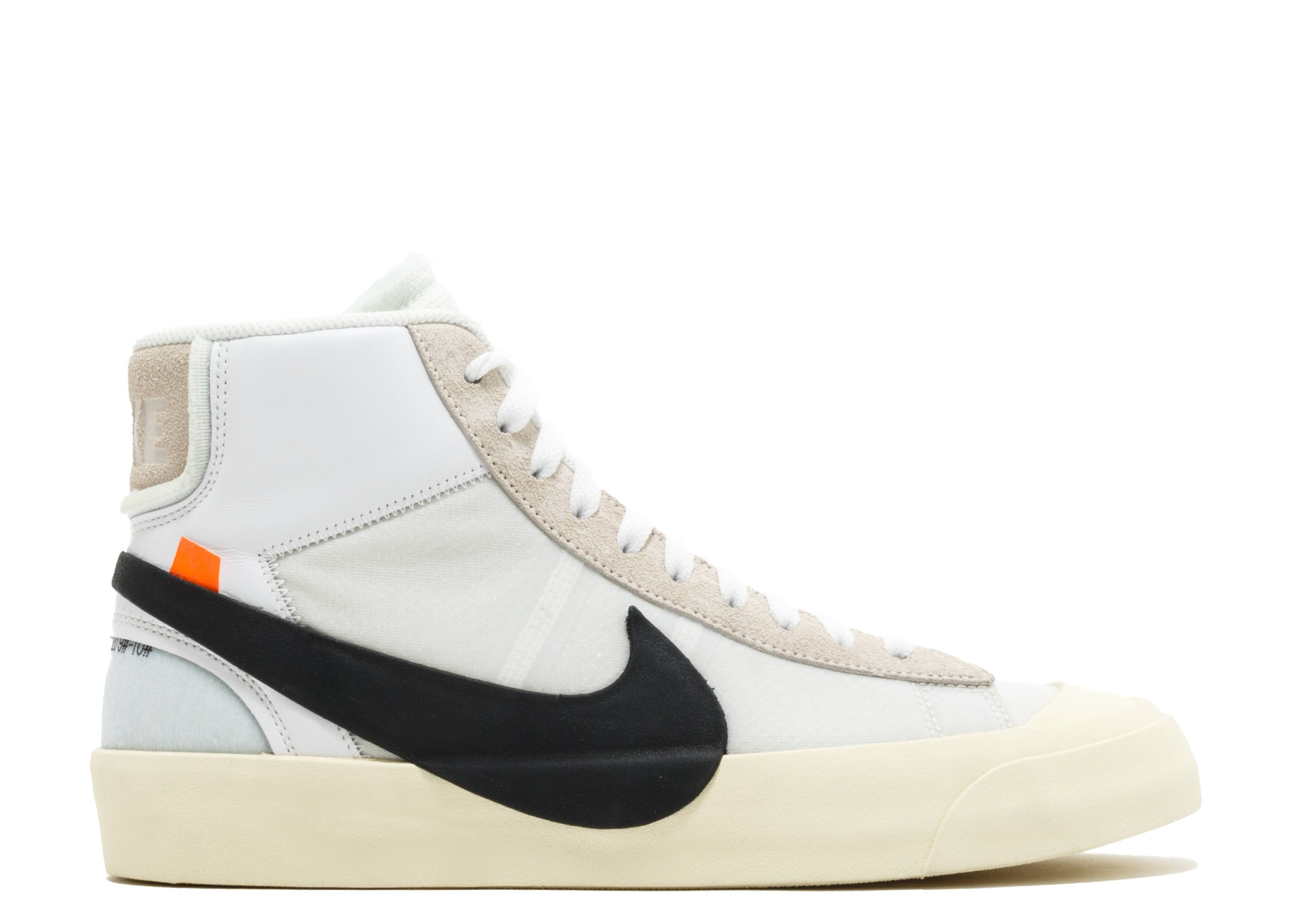 "the 10: nike blazer mid ""off white"""