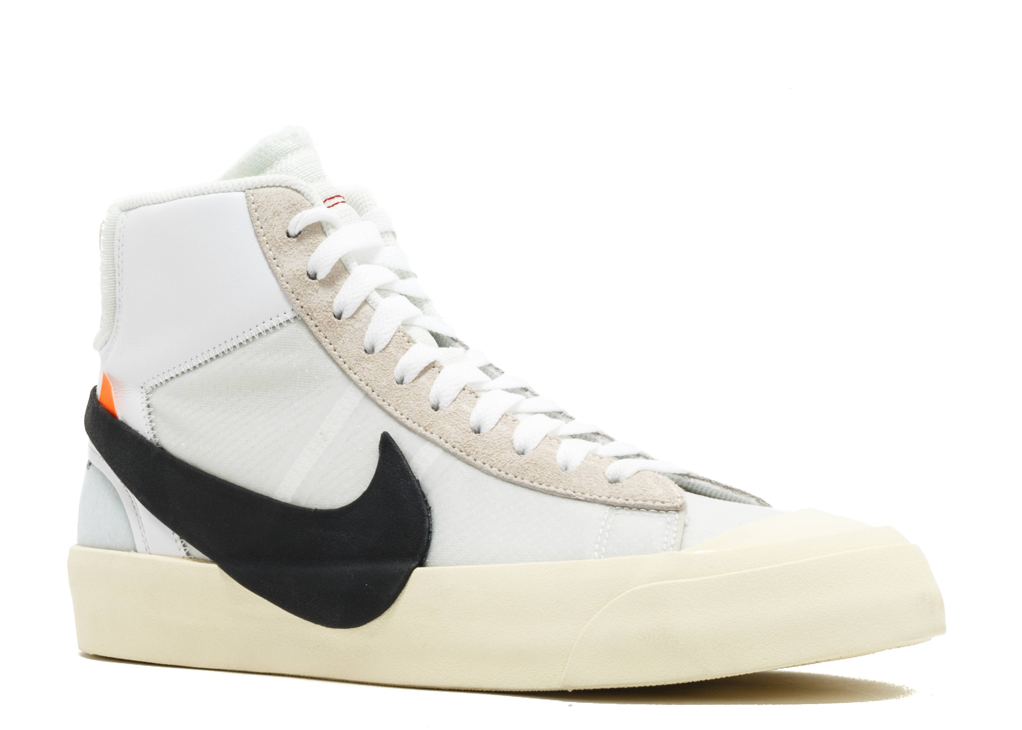 the best attitude 6b233 f9e4a ... discount code for the 10 nike blazer mid off white 77b00 51290