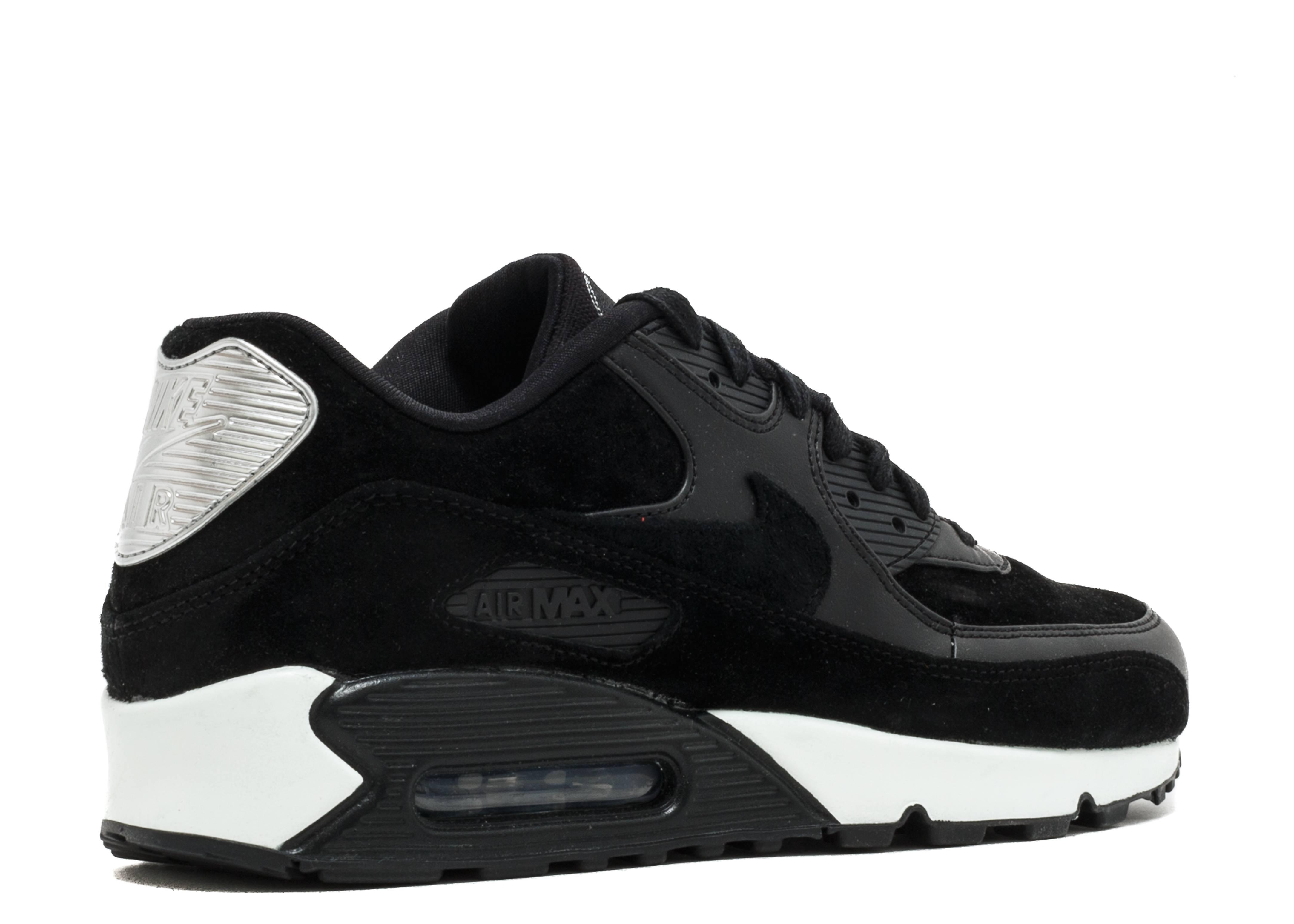 Escabullirse Soberano límite  Air Max 90 Premium 'Rebel Skulls' - Nike - 700155 009 - black/chrome-off  white | Flight Club