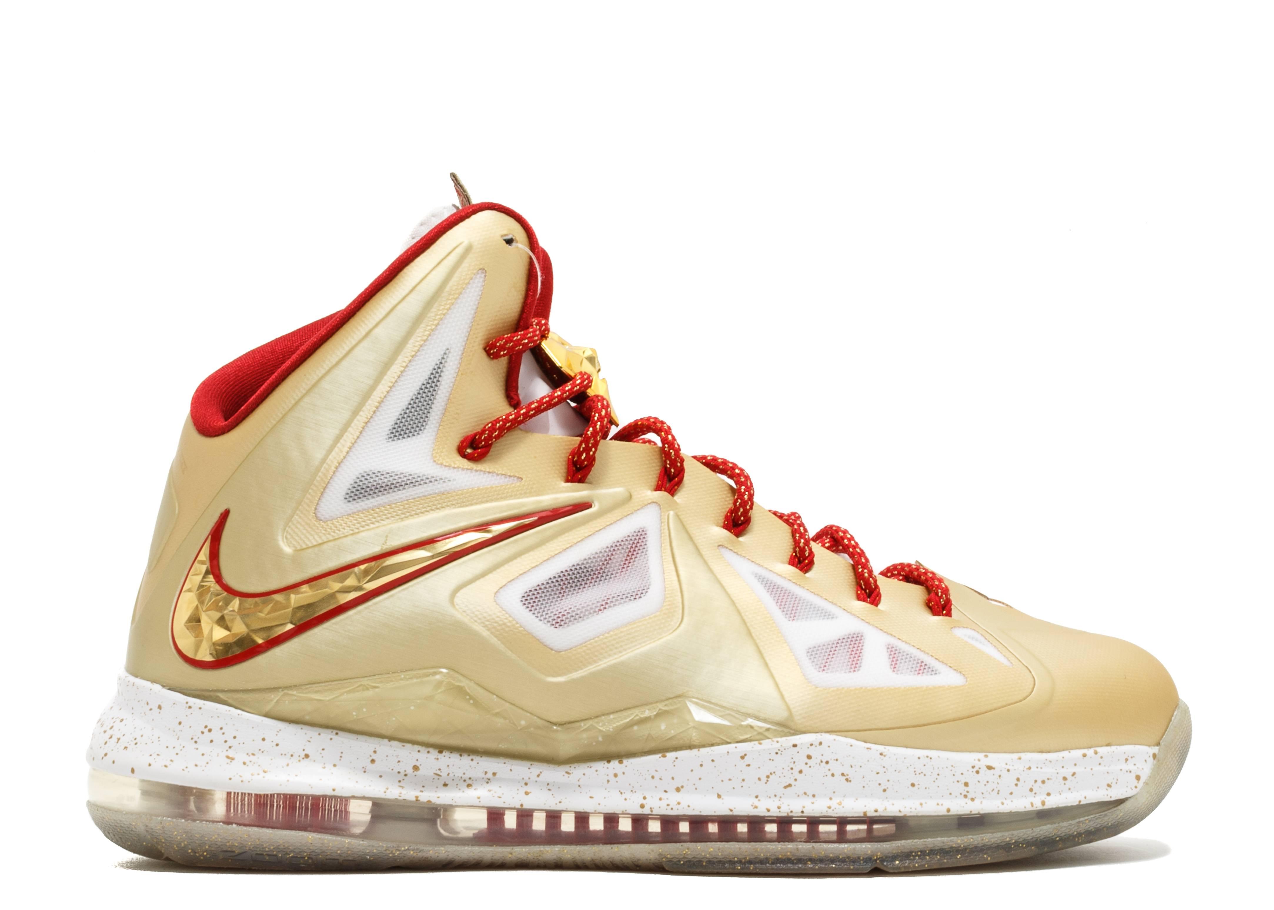 "Nike Lebron 10 PE ""Championship"""