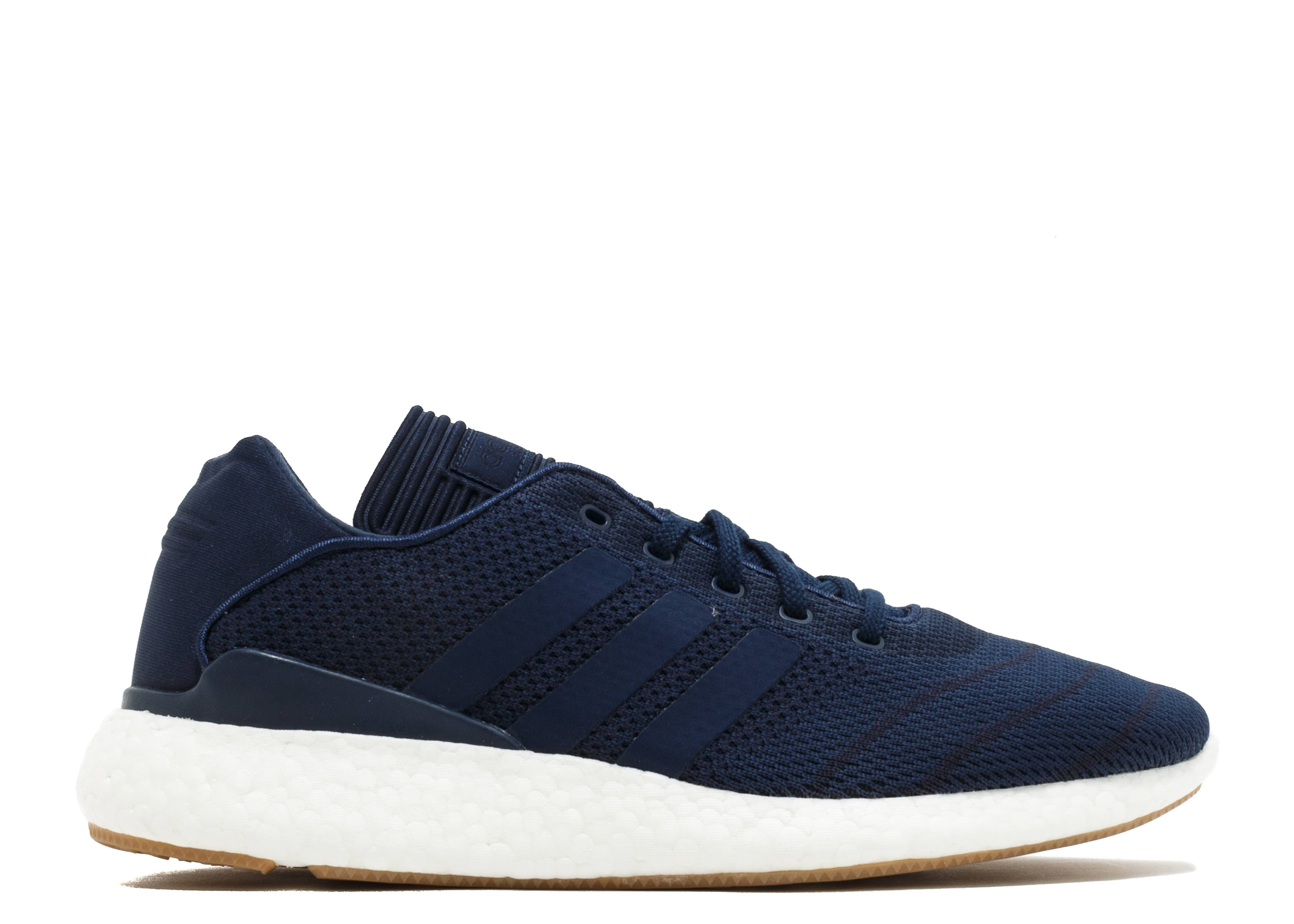 Busenitz Pure Boost Pk - Adidas - by4092 - navy blue white  dbe3403ac