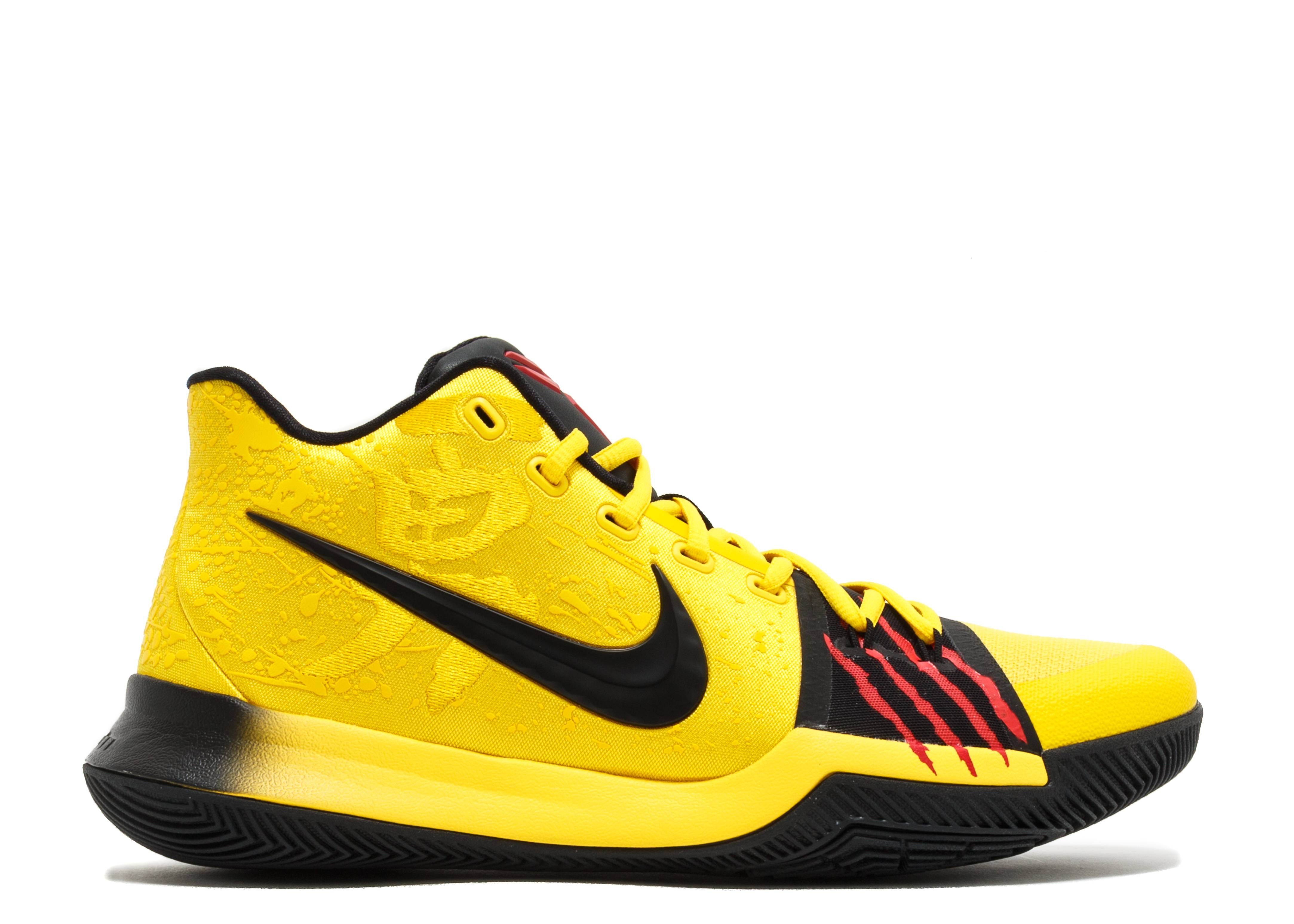Black And Yellow Kids Shoes