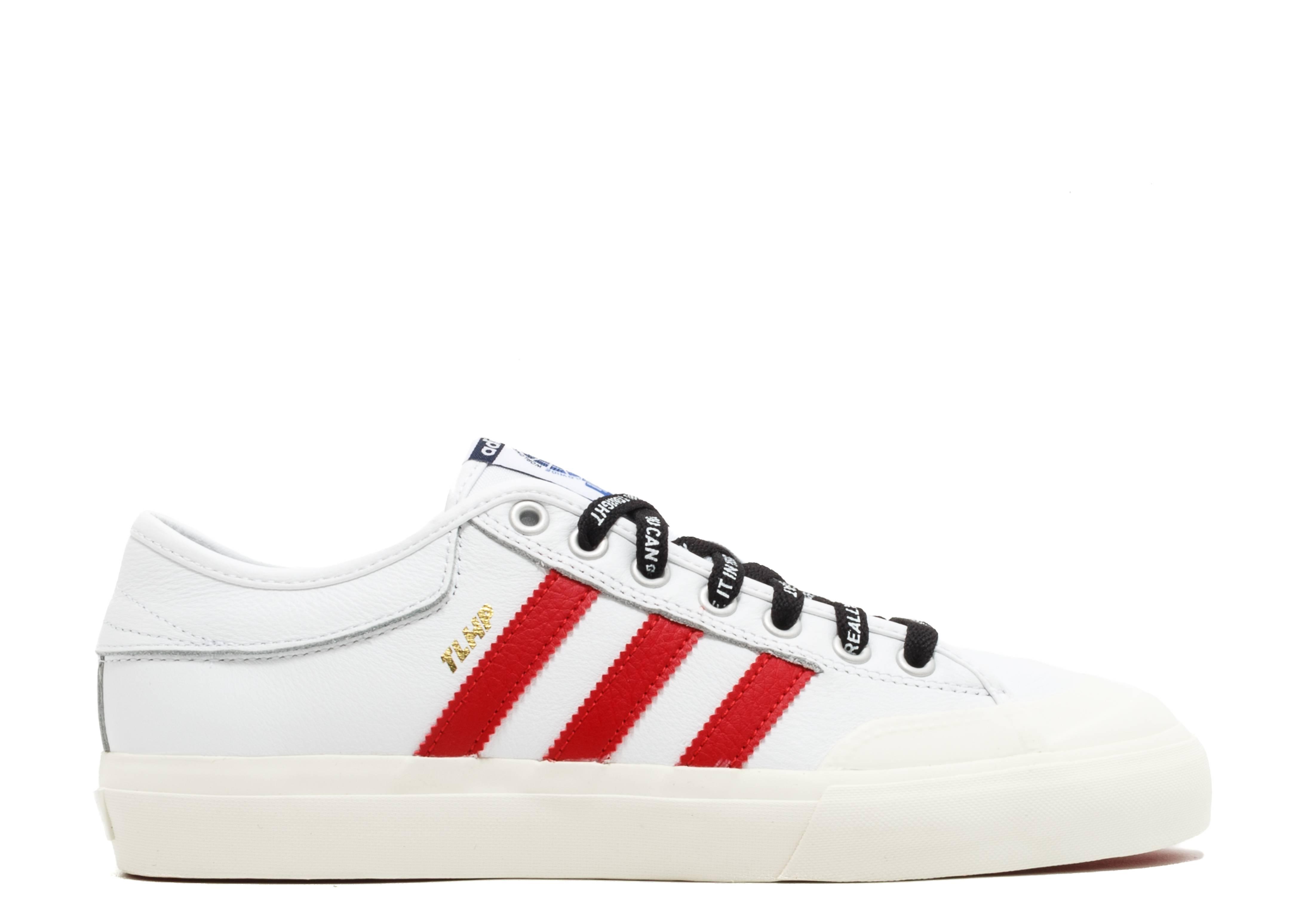 adidas x Trap Lord Matchcourt Black & White Shoes  Zumiez