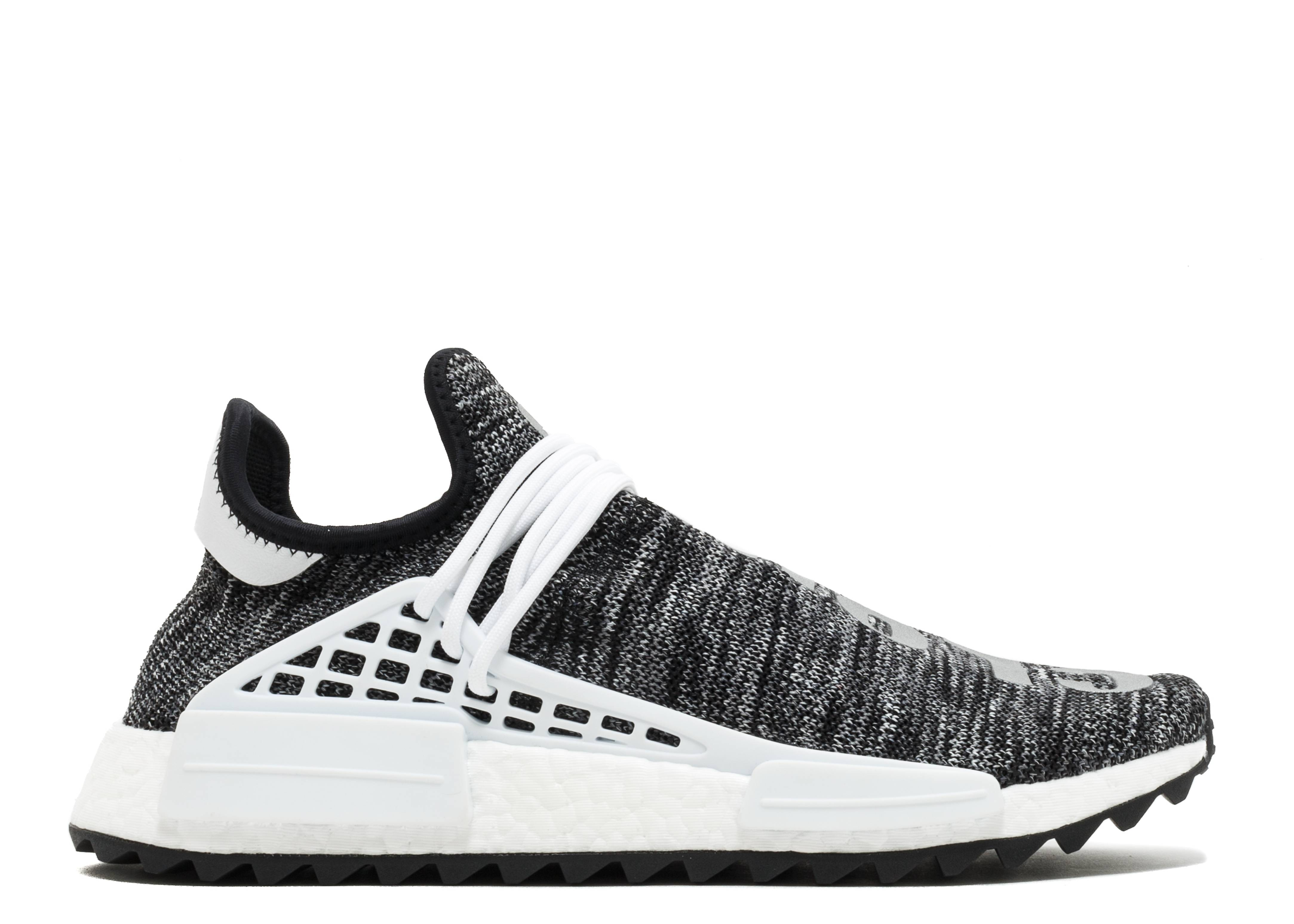 Pharrell Williams x adidas NMD Hu Trail 'Core Black' | EG7836
