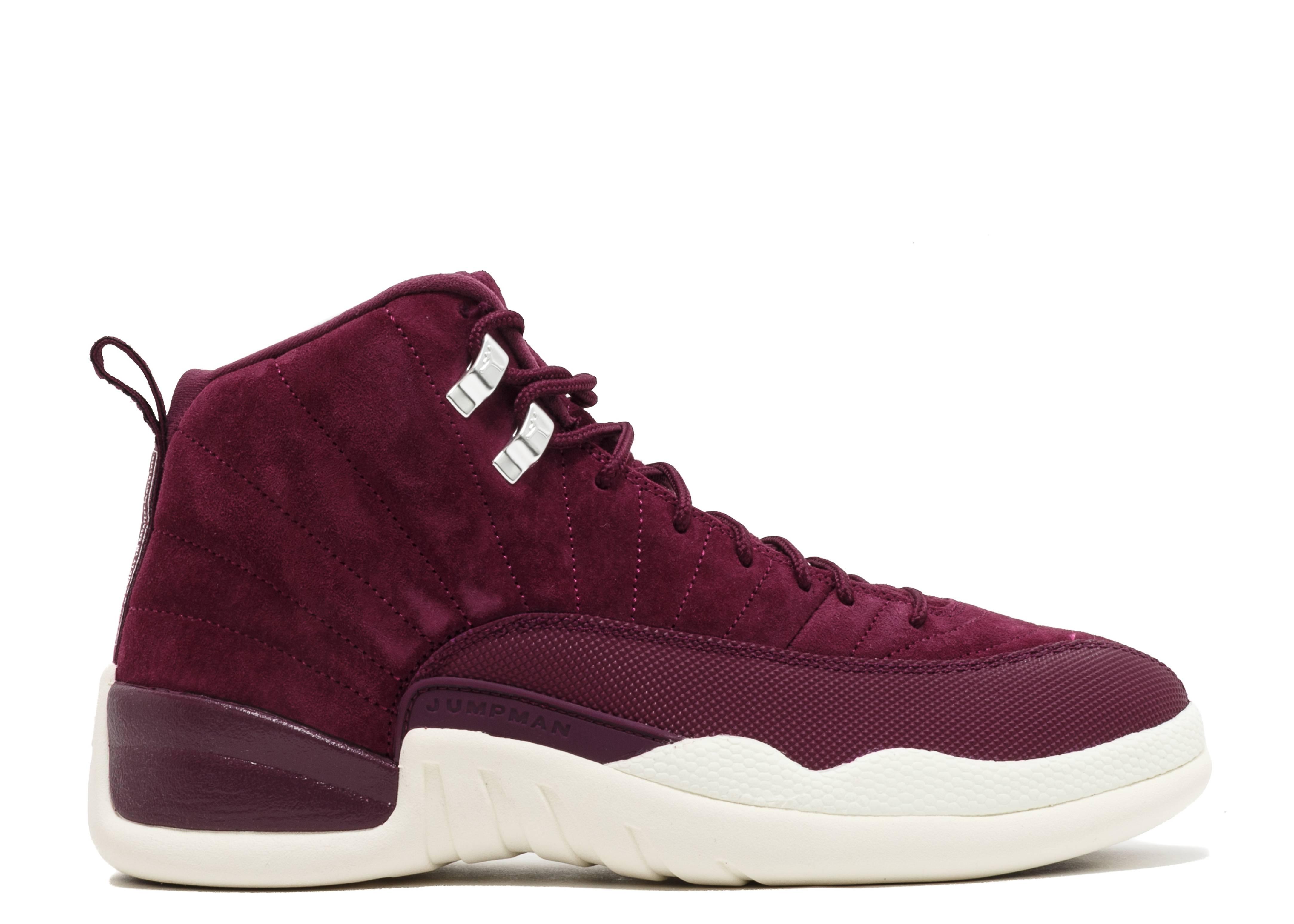 purple white mens air jordan retro 12 shoes On the 12 shoes