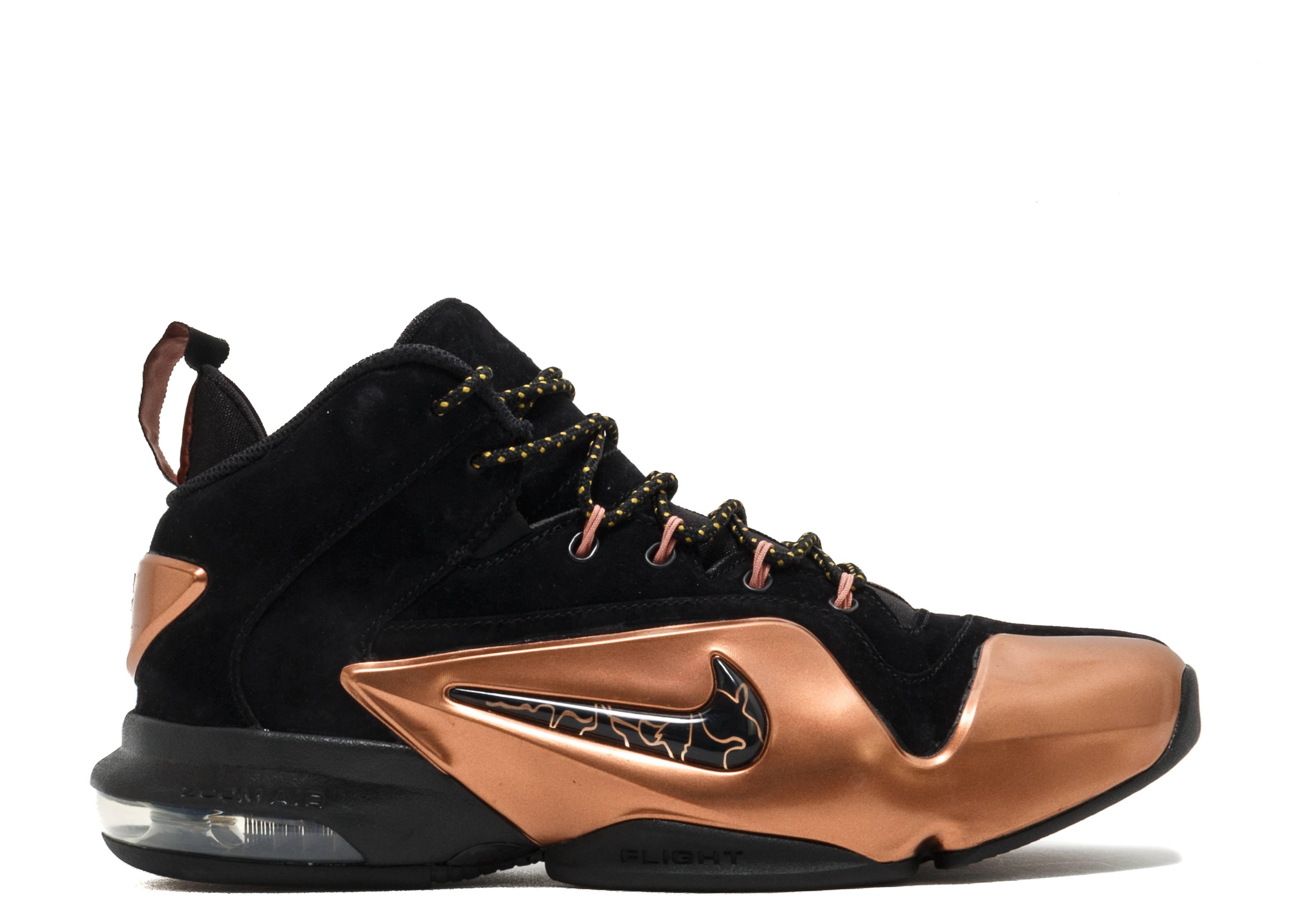 0acdafe542f6 Zoom Penny VI - Nike - 749629 001 - black black metallic copper ...