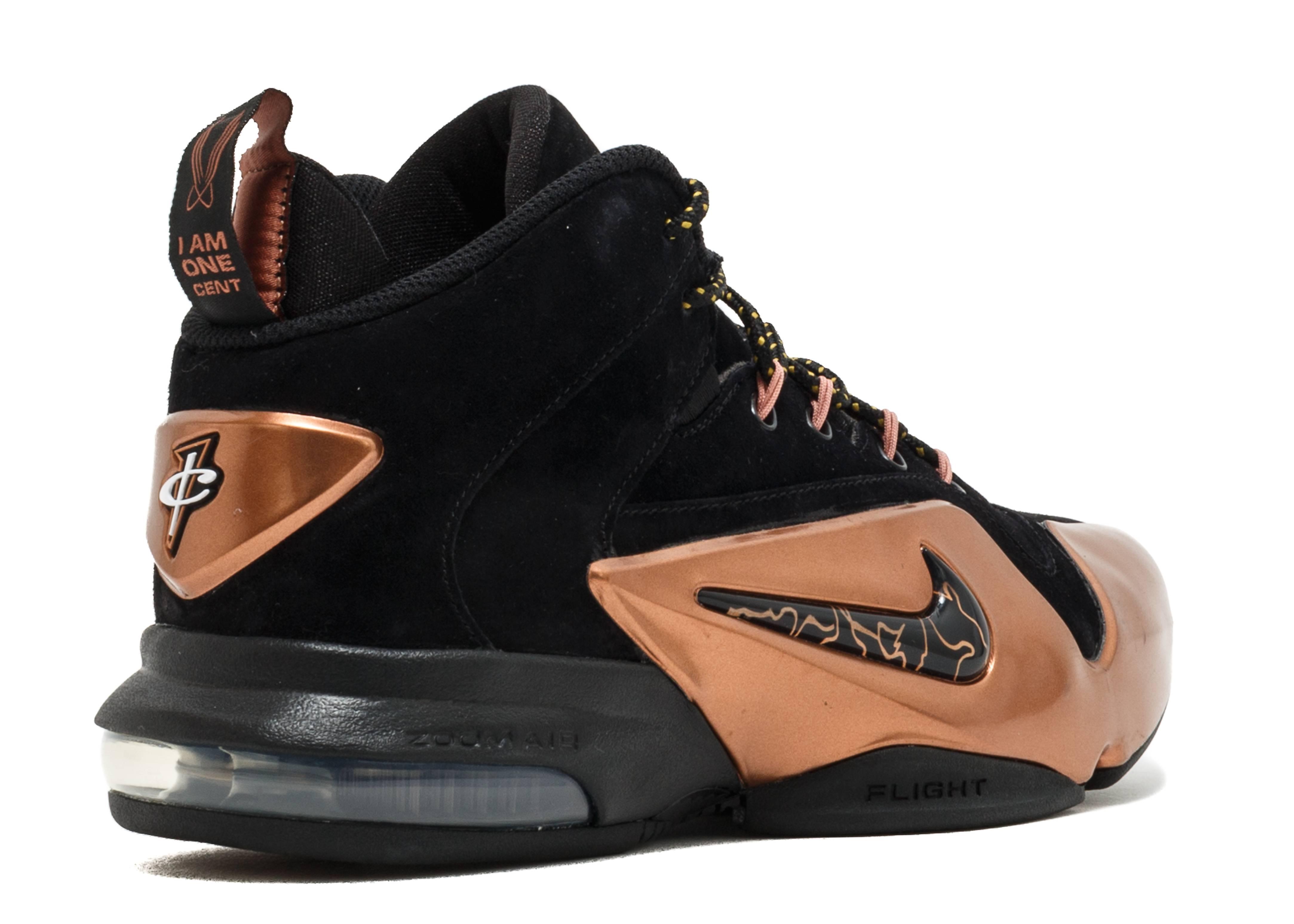 reputable site 43eb8 ca93e Zoom Penny VI - Nike - 749629 001 - black black metallic copper   Flight  Club