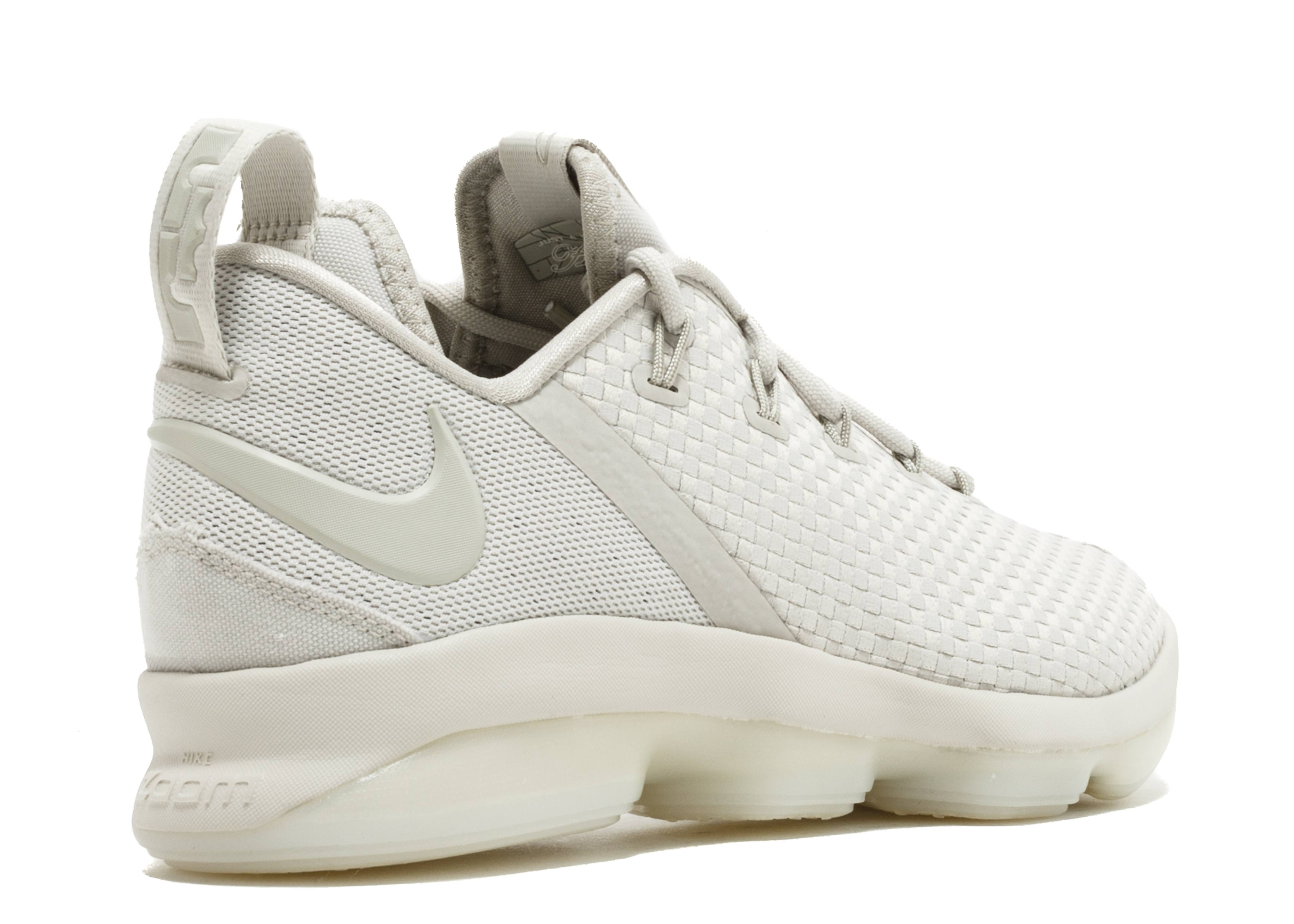 Lebron XIV Low - Nike - 878636 004 - light bone ivory-light bone ... c170a79bb