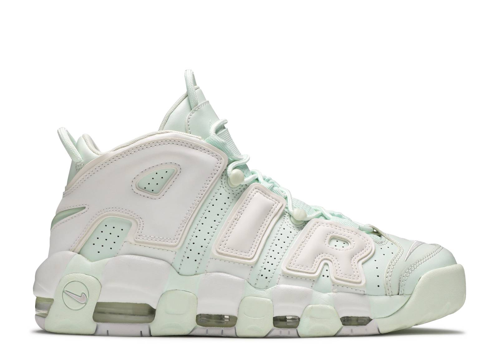 "w nike air more uptempo ""mint"""