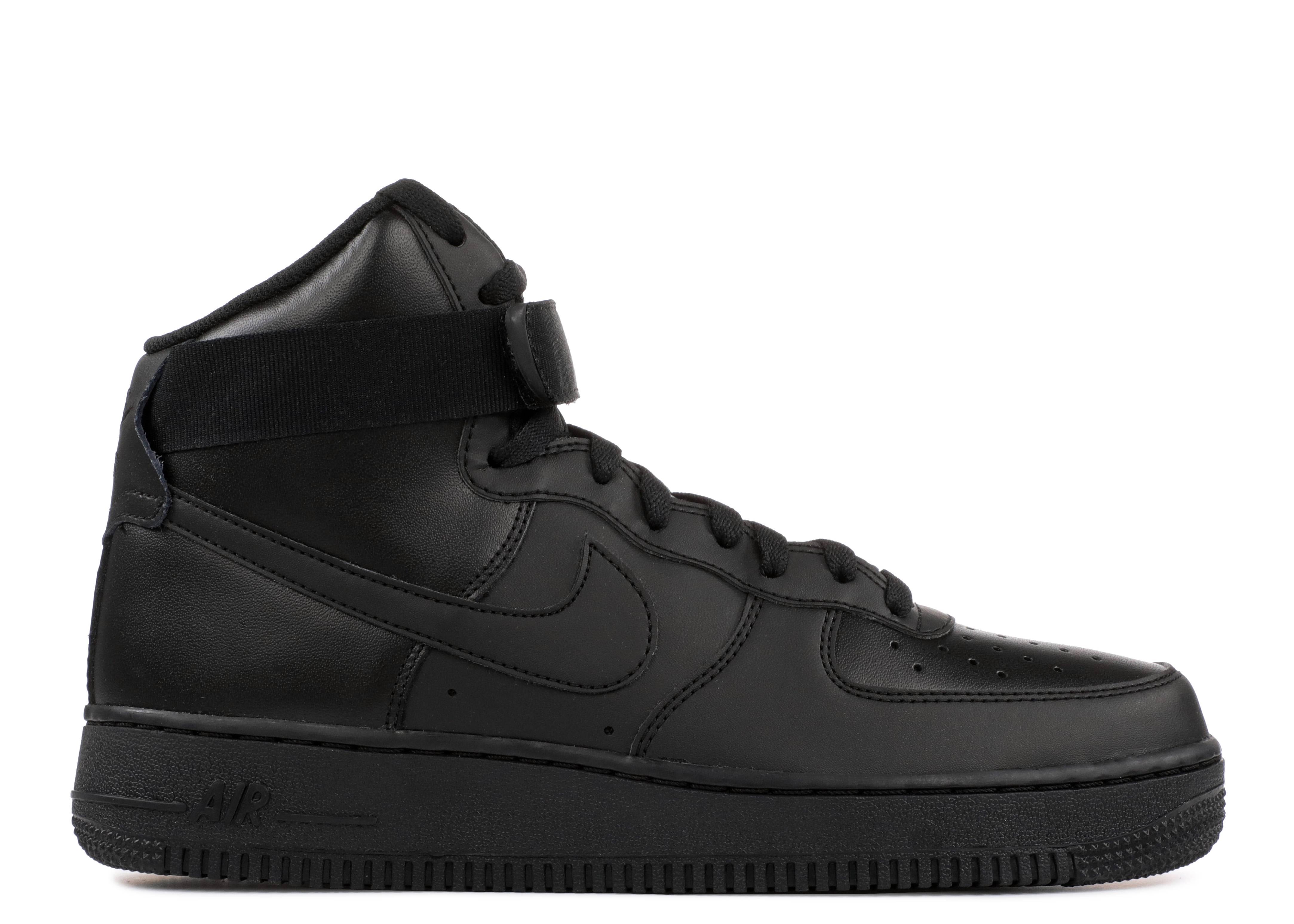 Air Force 1 High 07 Triple Black Nike 315121 032 Black