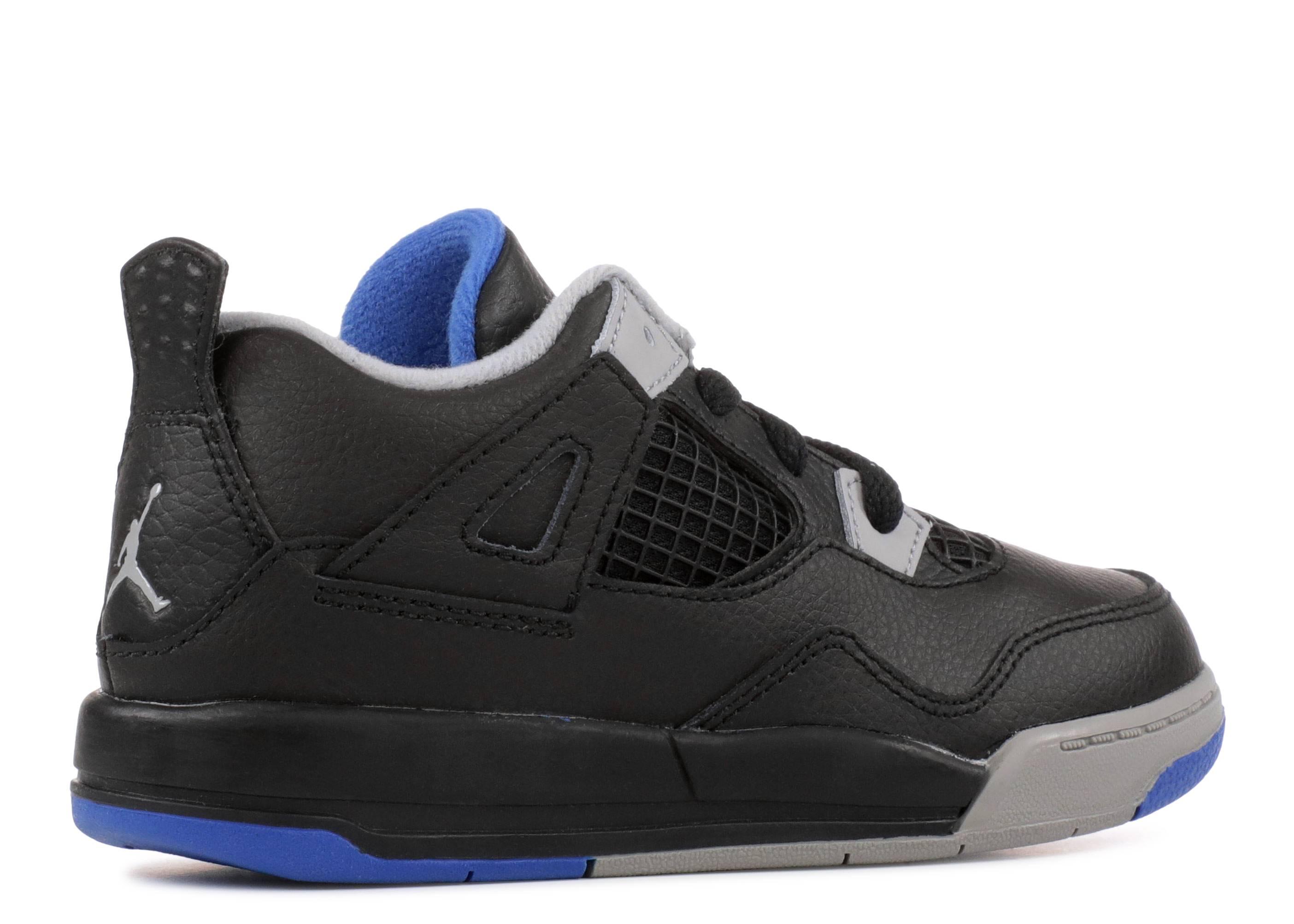 New Baby Air Jordan Retro 4 Toddler Shoes 308500-006 Toddler US 6 Eur 22