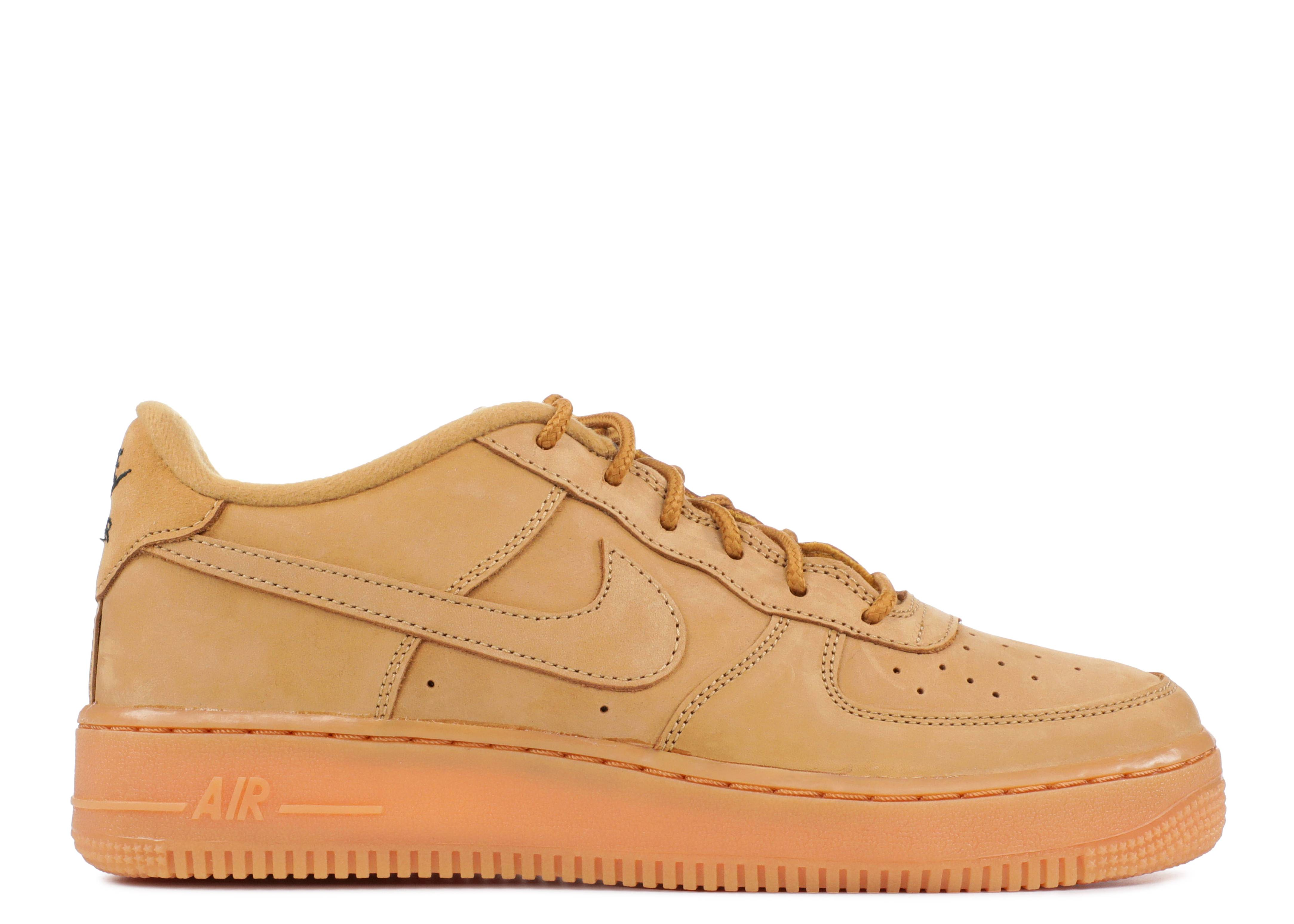 Nike Air Force 1 Mid Wheat Flax Brown Premium Quality Size