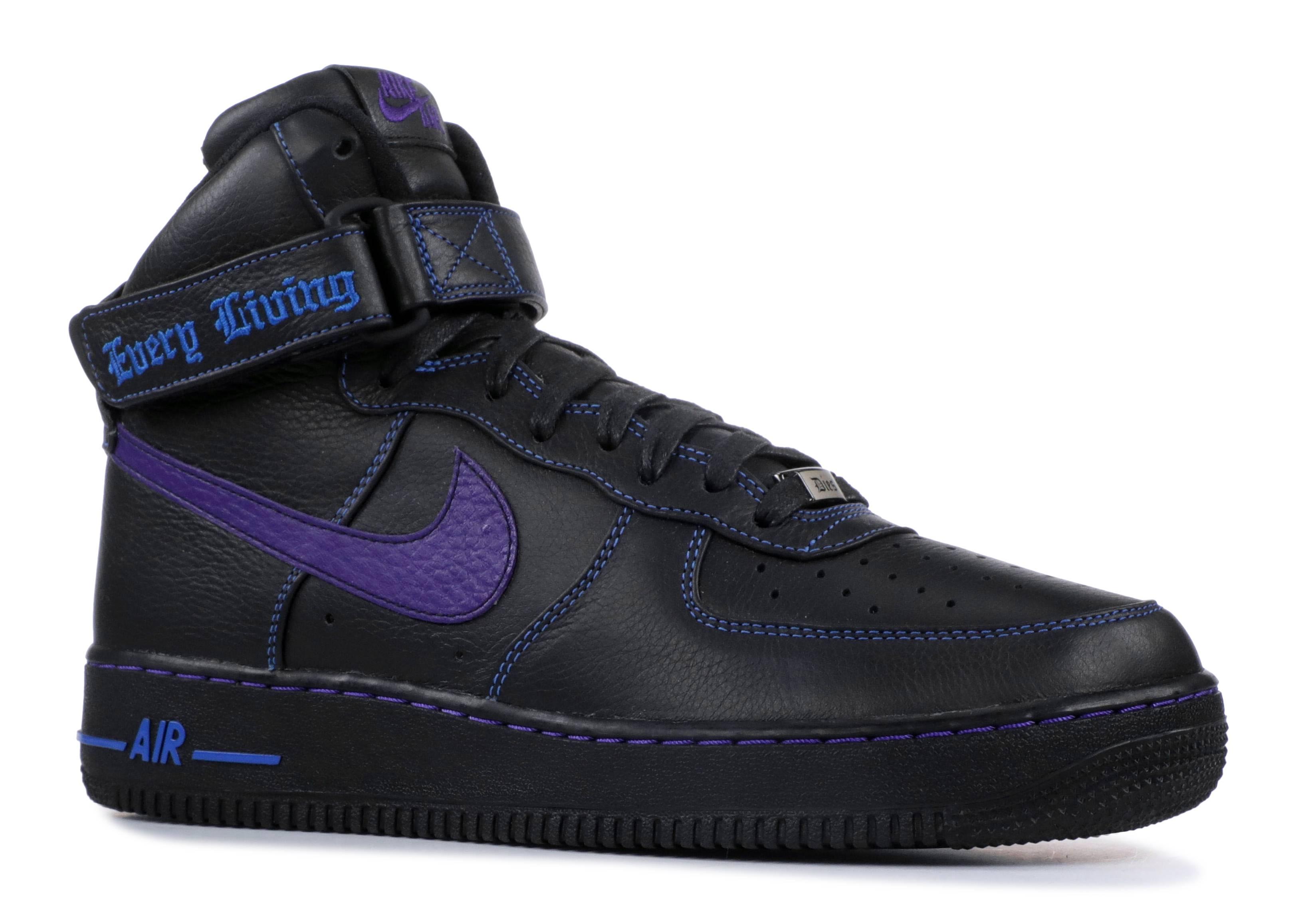 Air Force 1 High Vlone Blue Court Purple Black Prize 778911-906813 Air  Jordan 12 Retro ... 32bad519c